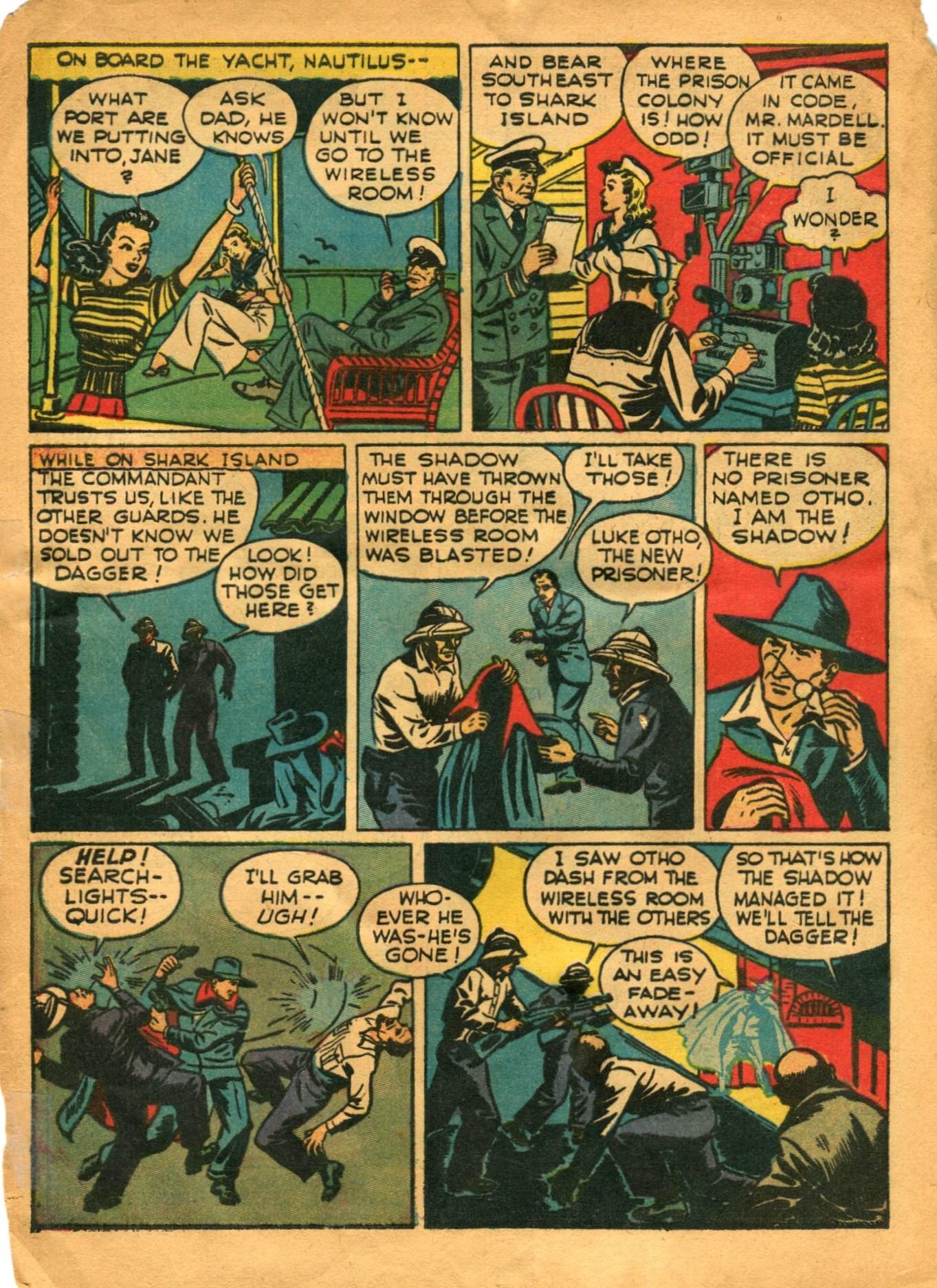 Read online Shadow Comics comic -  Issue #12 - 12