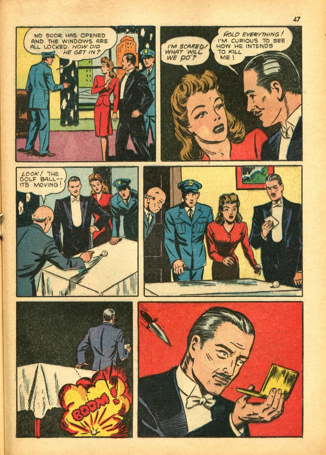 Read online Super-Magician Comics comic -  Issue #15 - 46