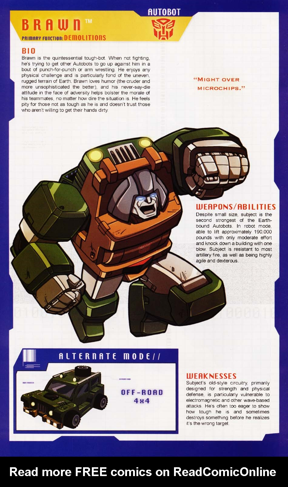 Read online Transformers: More than Meets the Eye comic -  Issue #1 - 40