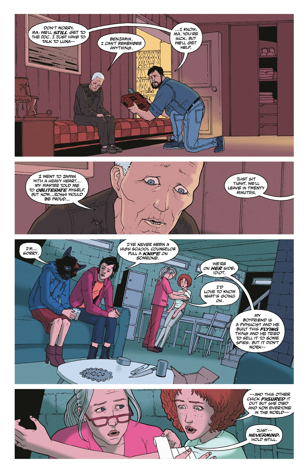 Read online She Could Fly comic -  Issue # _TPB - 118