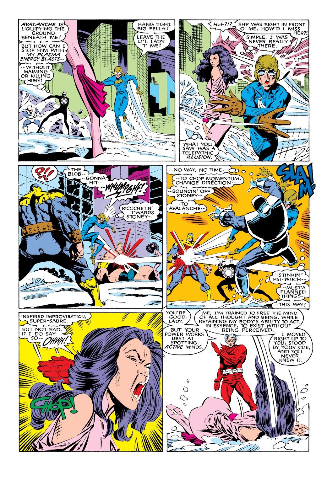 Read online X-Men Milestones: Fall of the Mutants comic -  Issue # TPB (Part 1) - 23