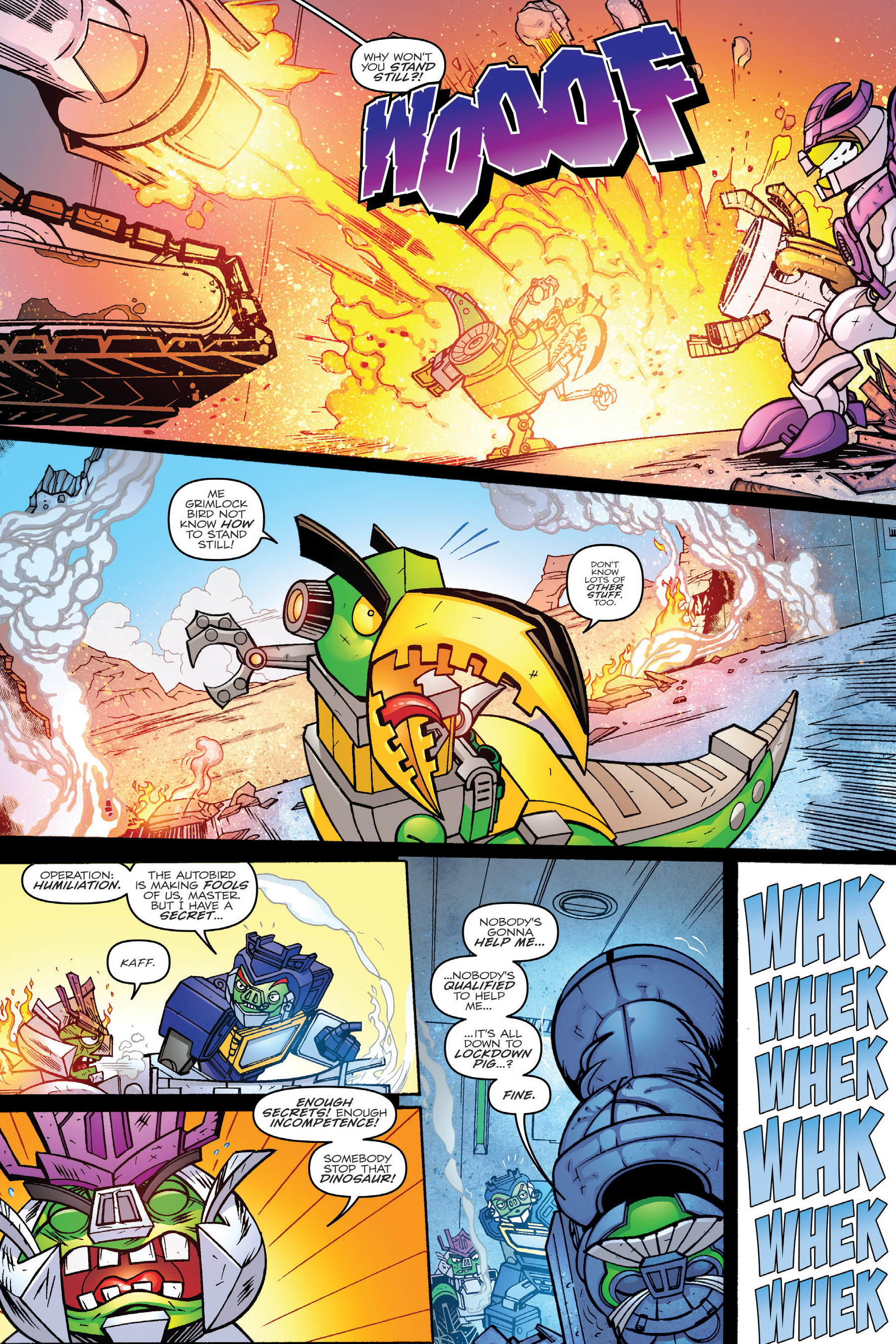 Read online Angry Birds Transformers: Age of Eggstinction comic -  Issue # Full - 40