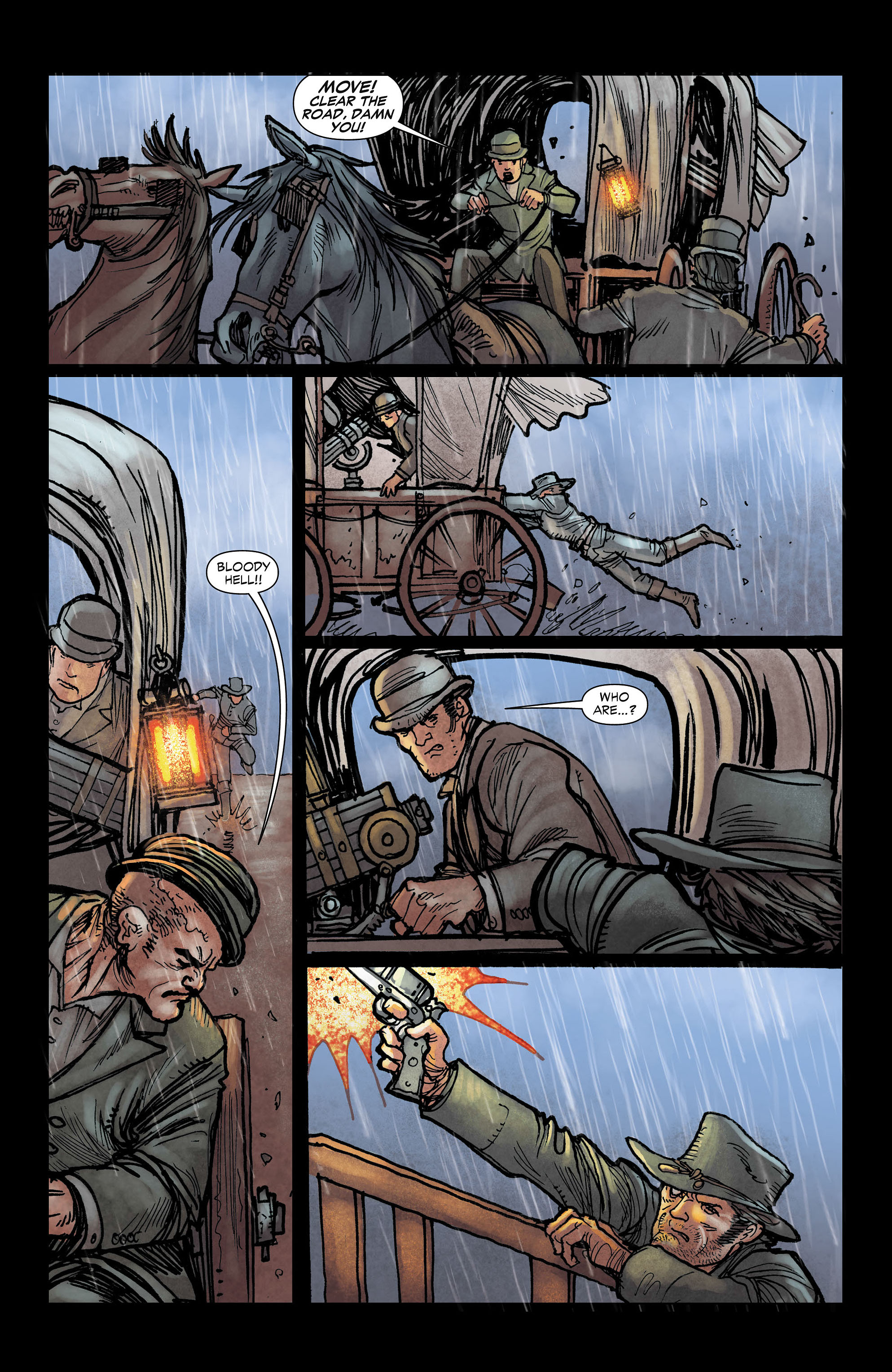 Read online All-Star Western (2011) comic -  Issue #3 - 10