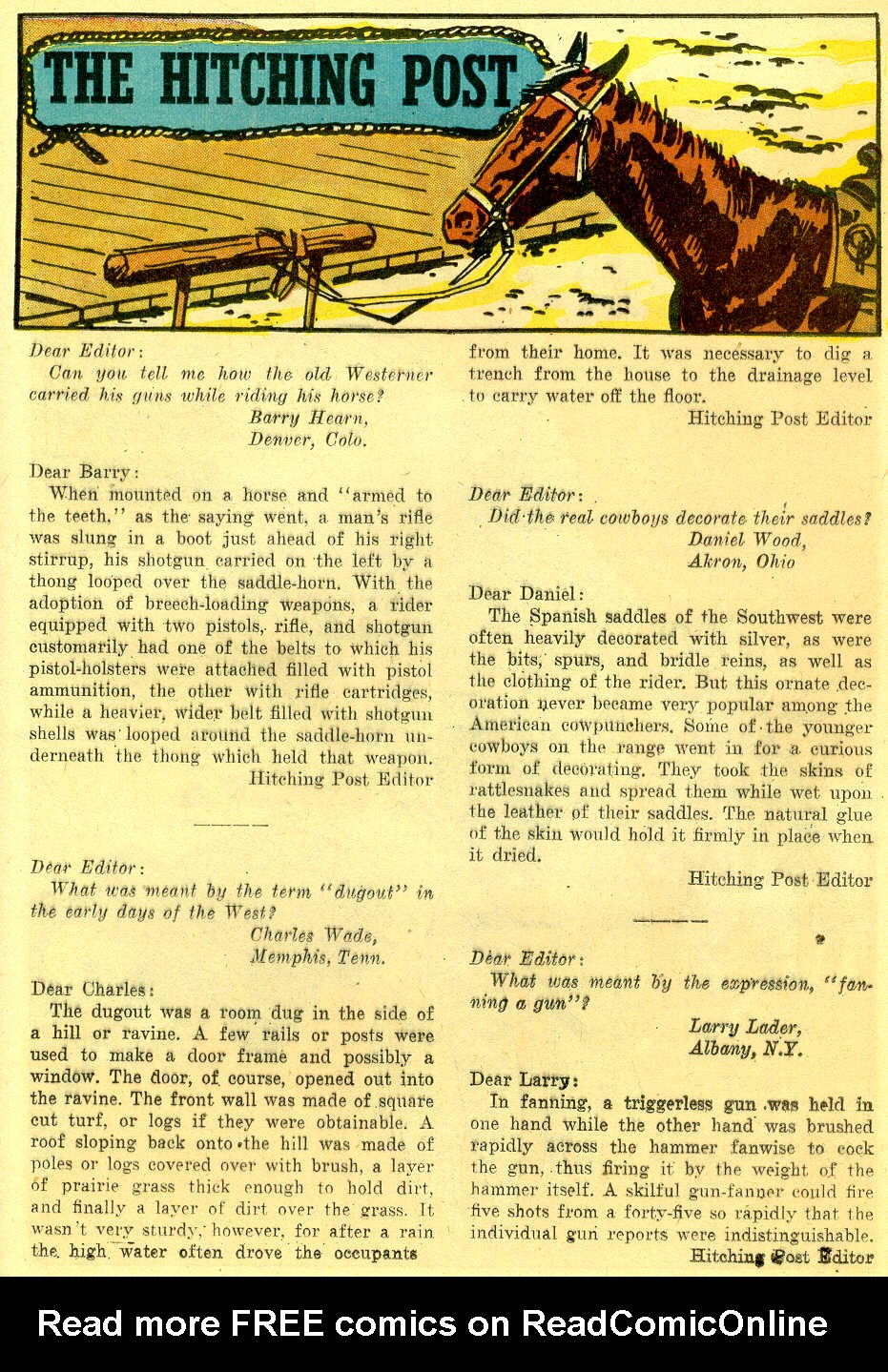 Read online All-Star Western (1951) comic -  Issue #103 - 23