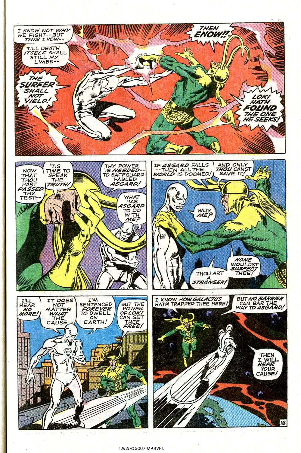 Read online Silver Surfer (1968) comic -  Issue #4 - 23