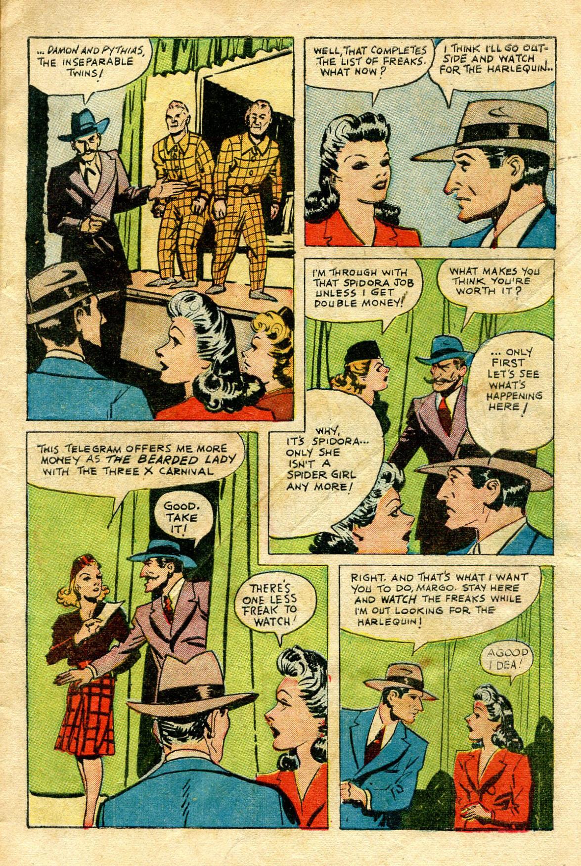Read online Shadow Comics comic -  Issue #65 - 5