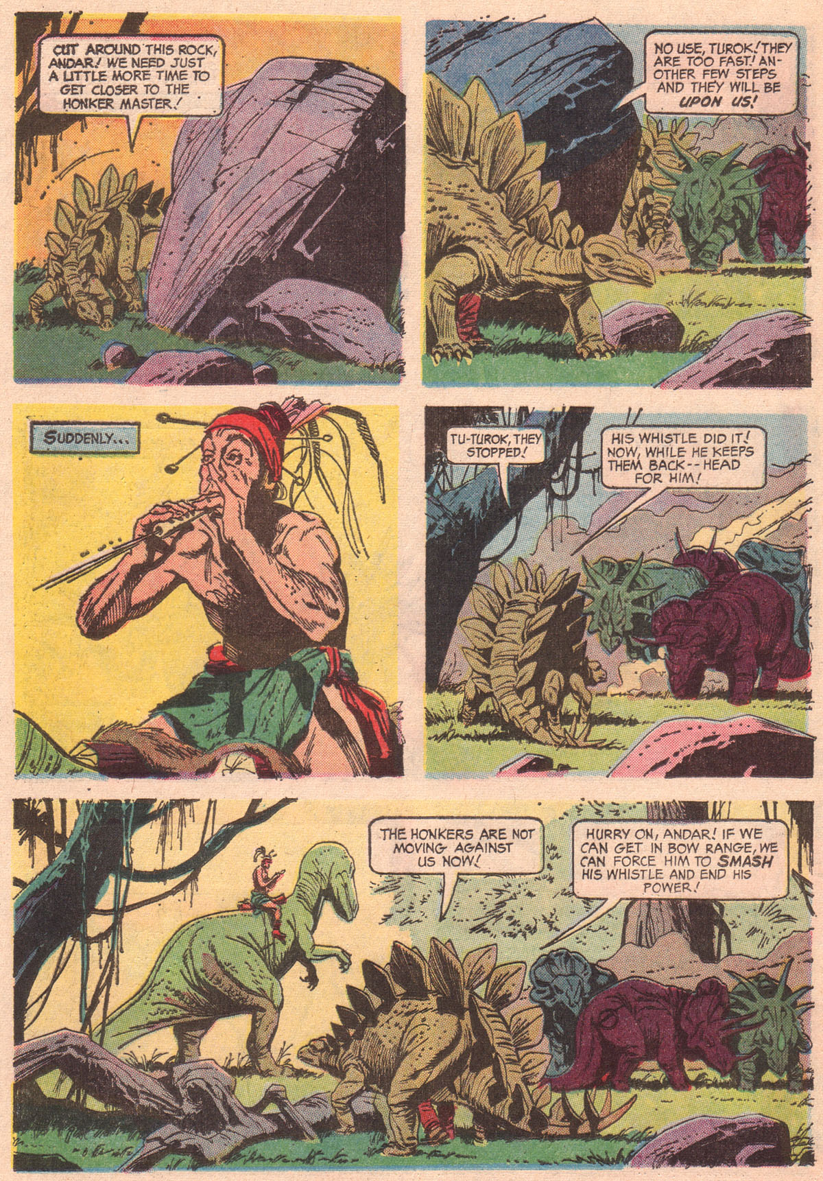 Read online Turok, Son of Stone comic -  Issue #56 - 12