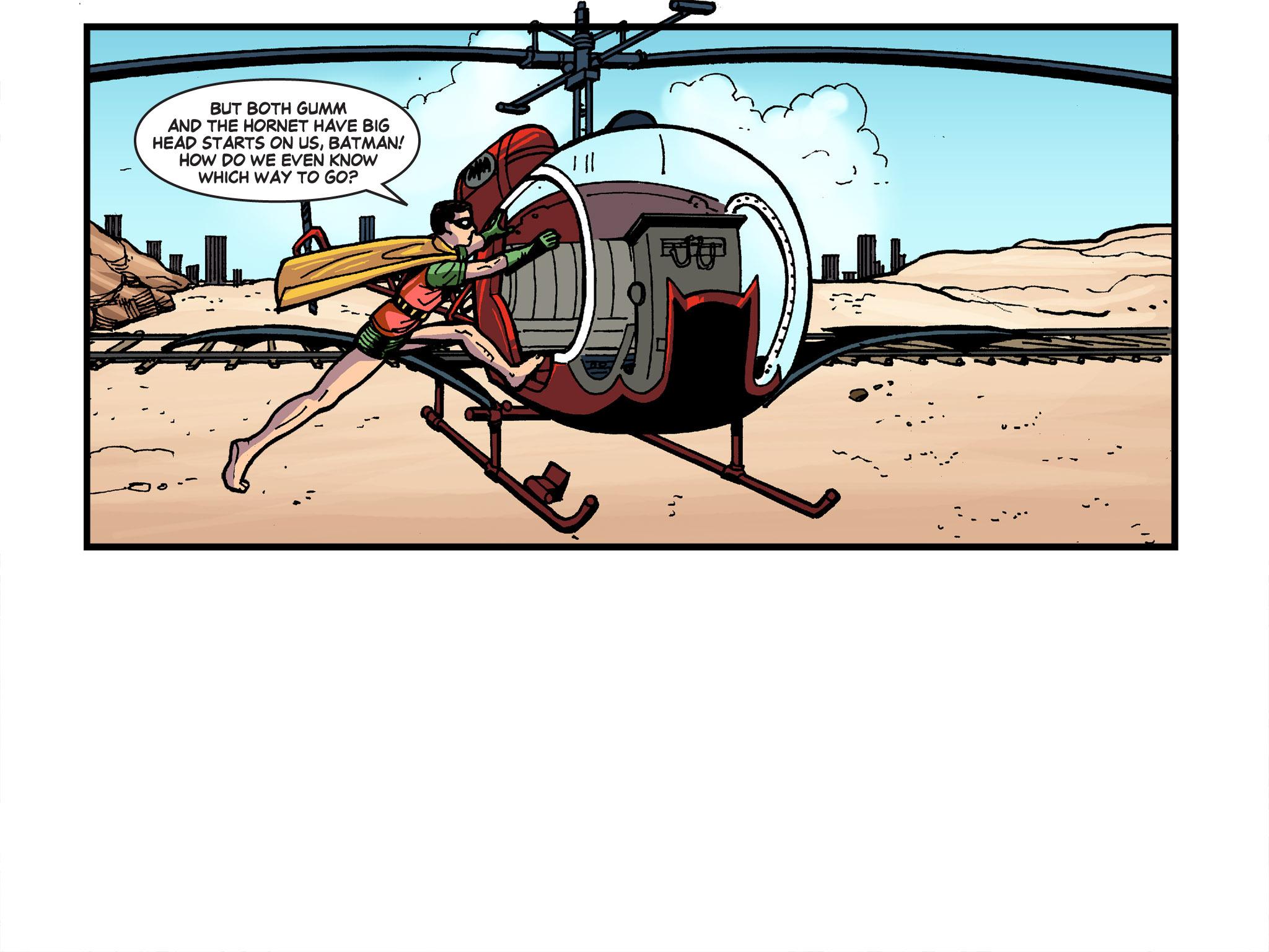 Read online Batman '66 Meets the Green Hornet [II] comic -  Issue #4 - 33