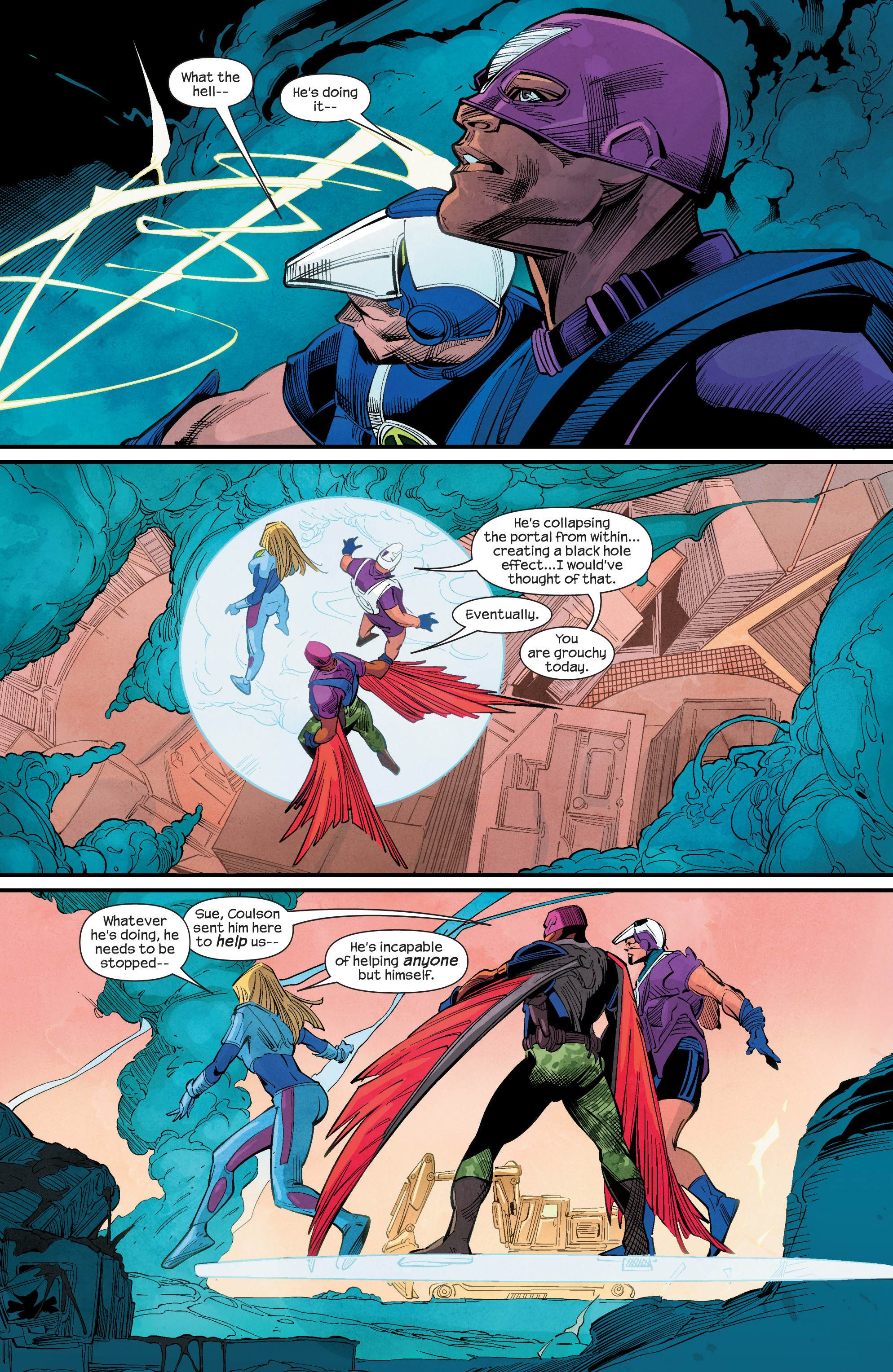 Read online Ultimate FF comic -  Issue #1 - 18