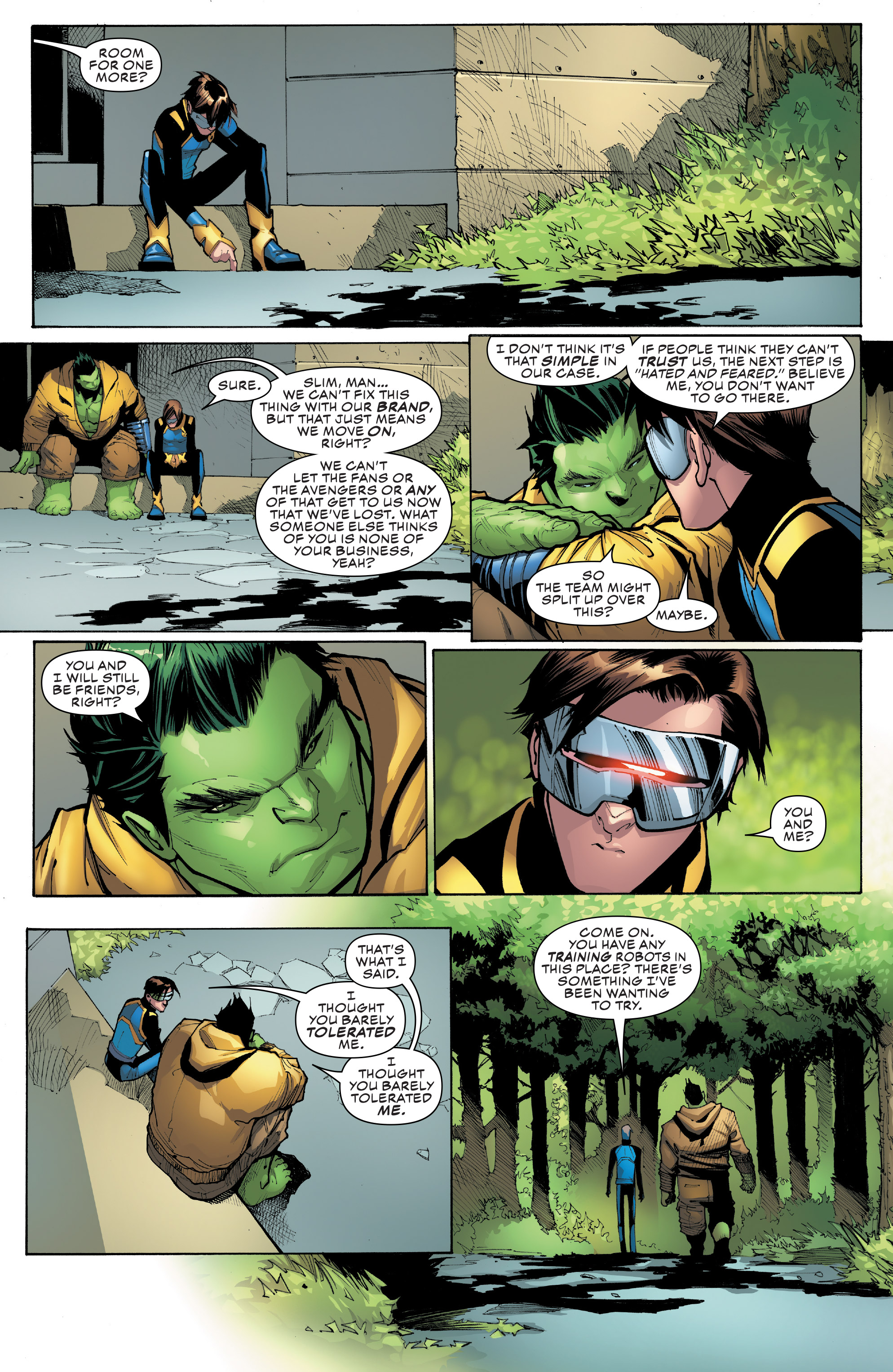 Read online Champions (2016) comic -  Issue #8 - 16