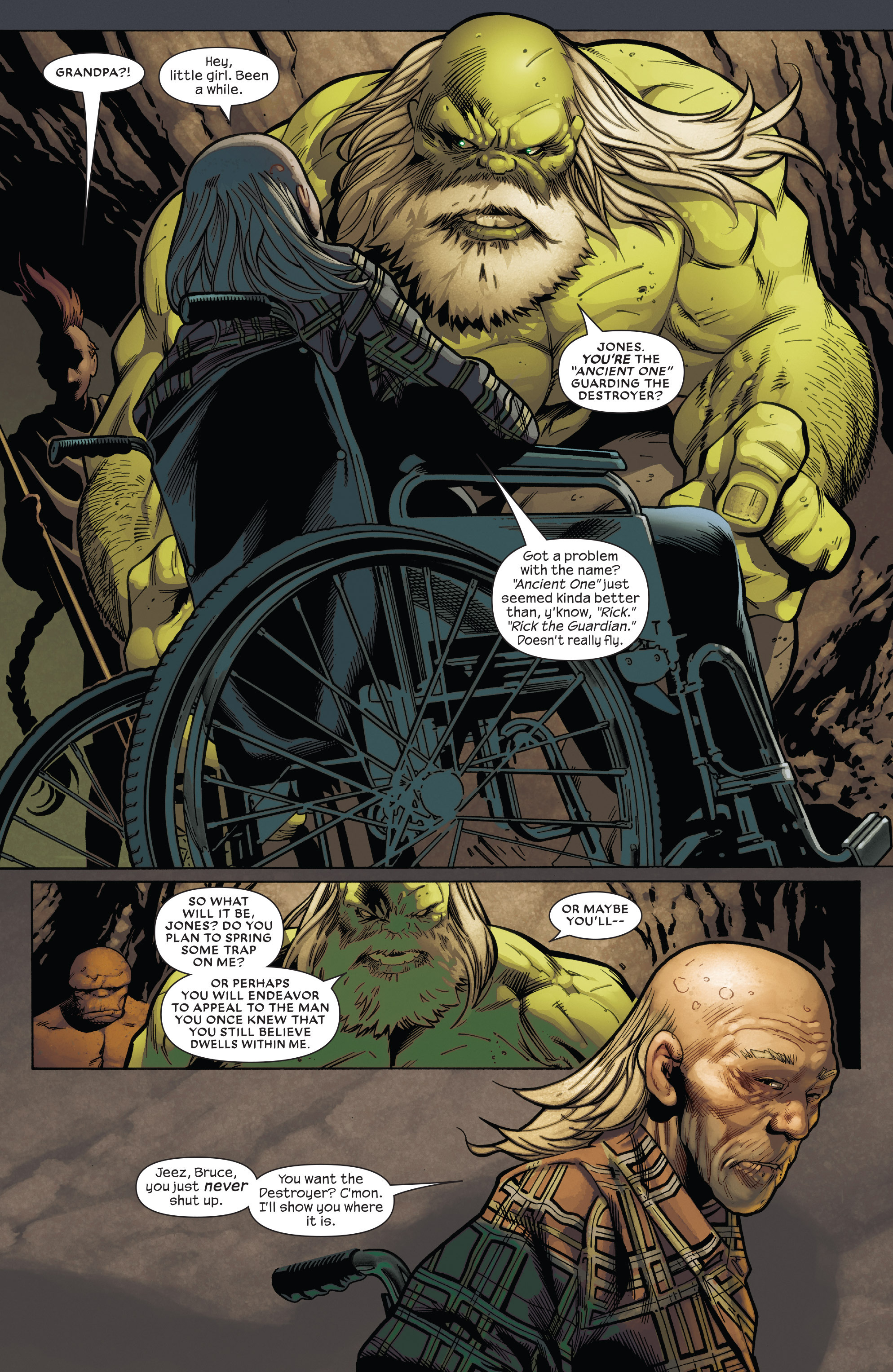 Read online Future Imperfect comic -  Issue #5 - 4