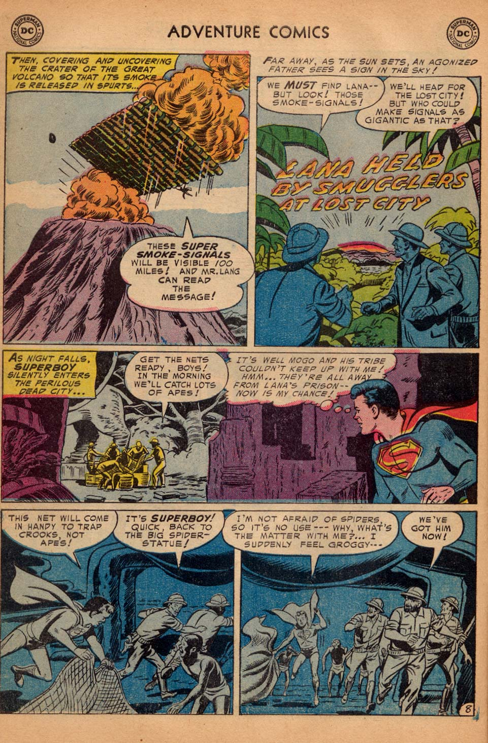 Read online Adventure Comics (1938) comic -  Issue #200 - 10