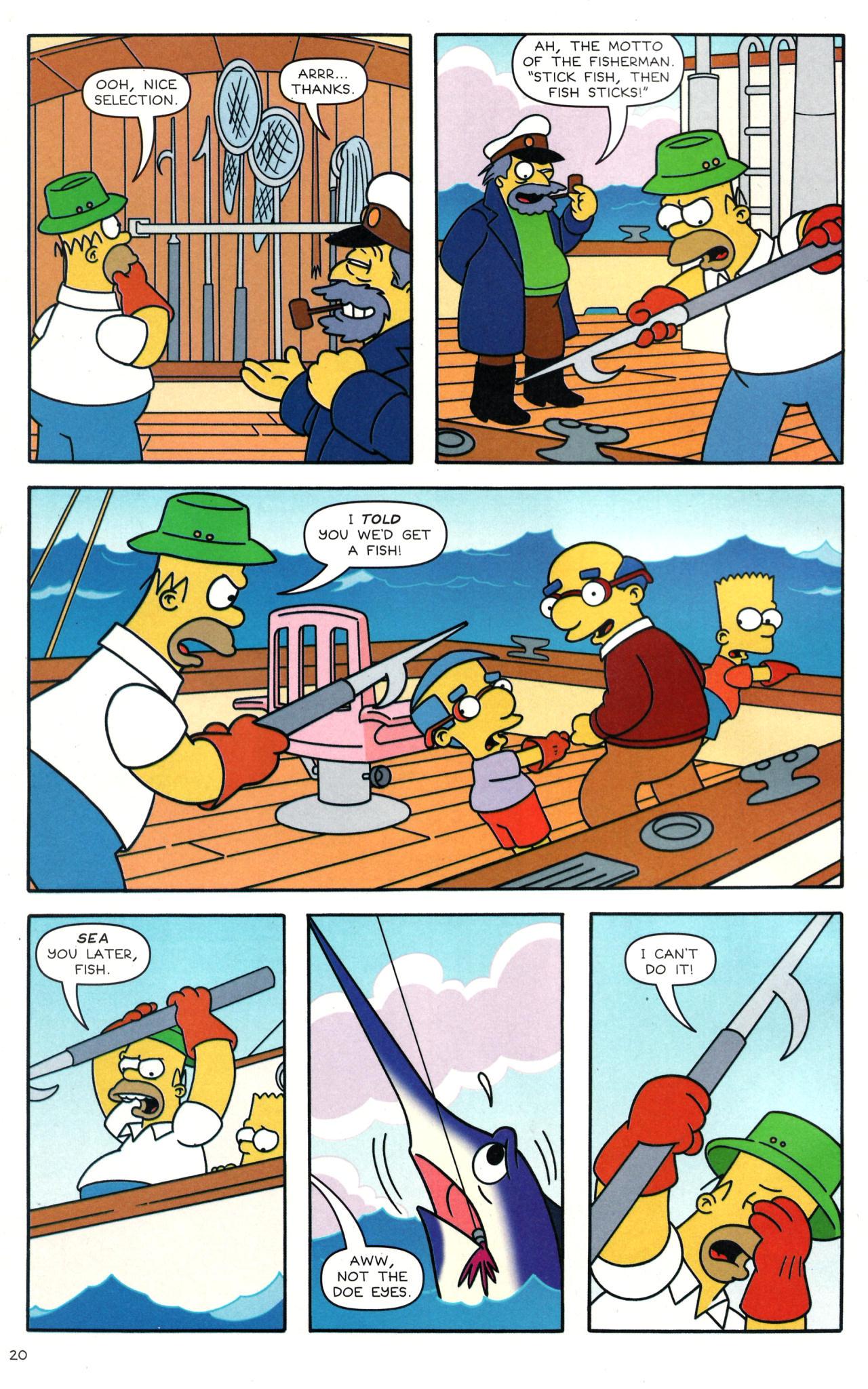 Read online Simpsons Comics comic -  Issue #135 - 17