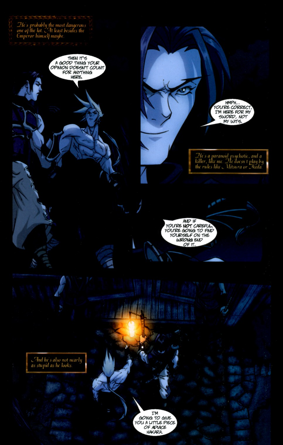 Read online Shidima comic -  Issue #4 - 16