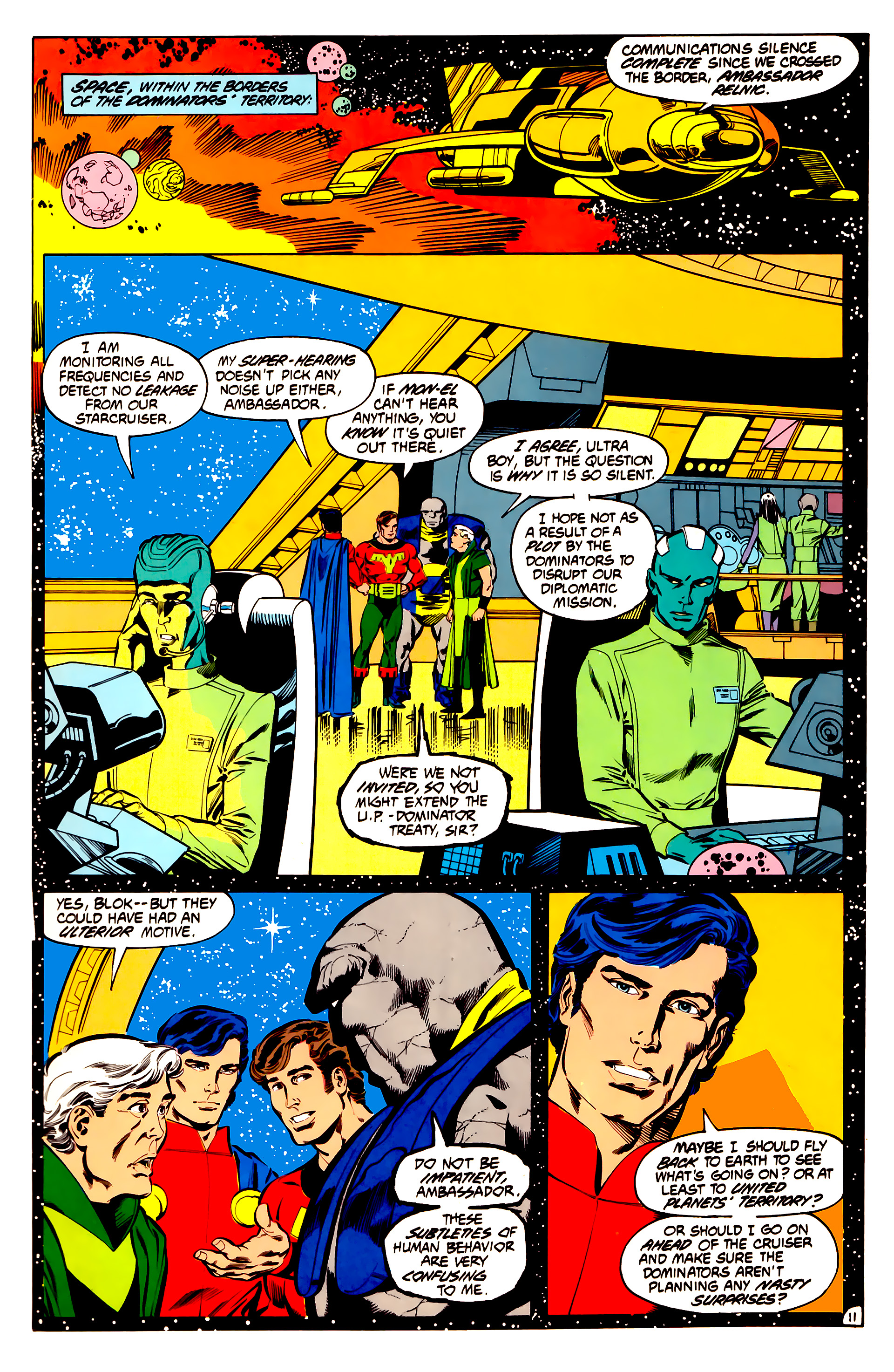 Legion of Super-Heroes (1984) 32 Page 10