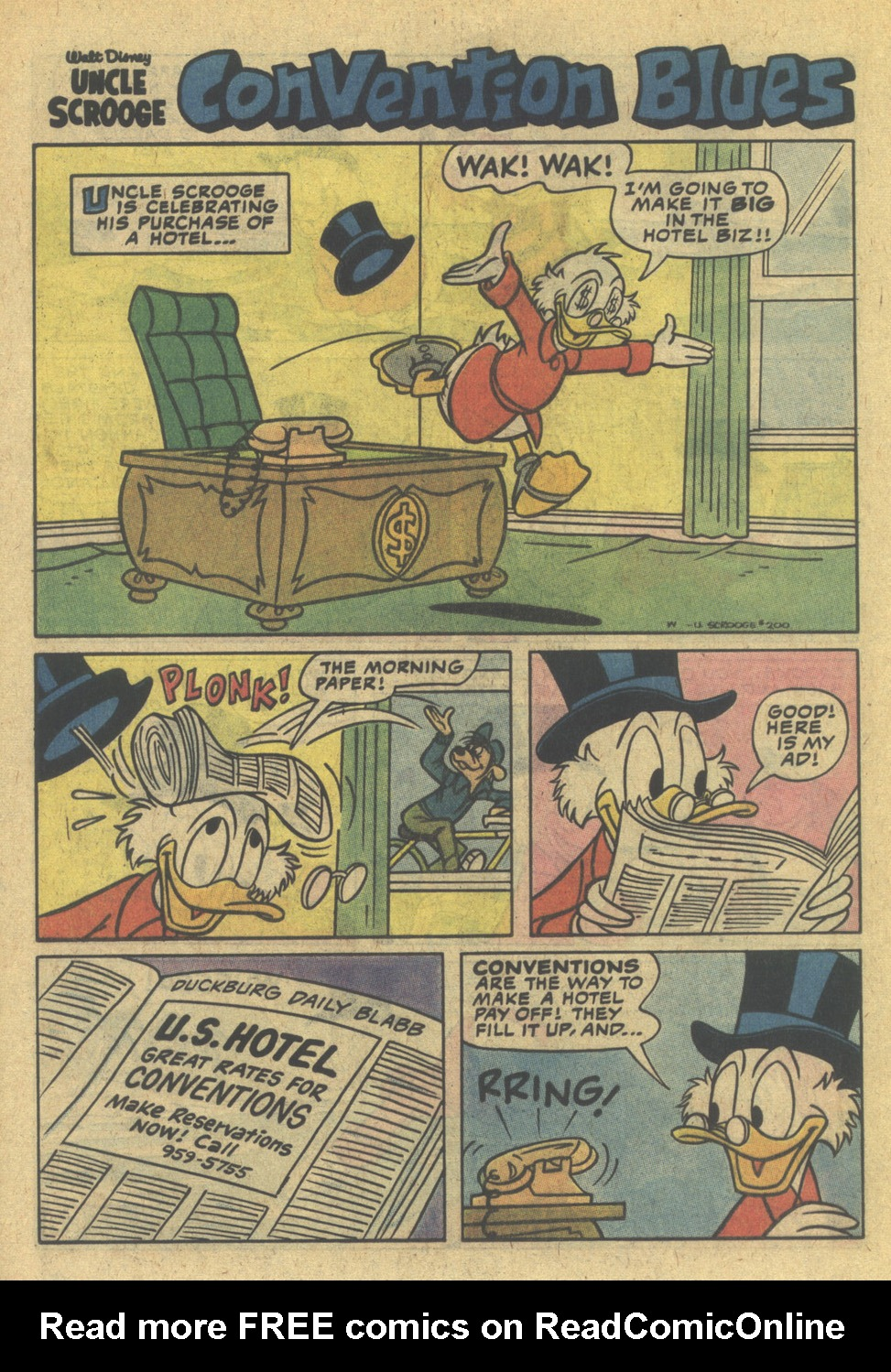Read online Uncle Scrooge (1953) comic -  Issue #200 - 24