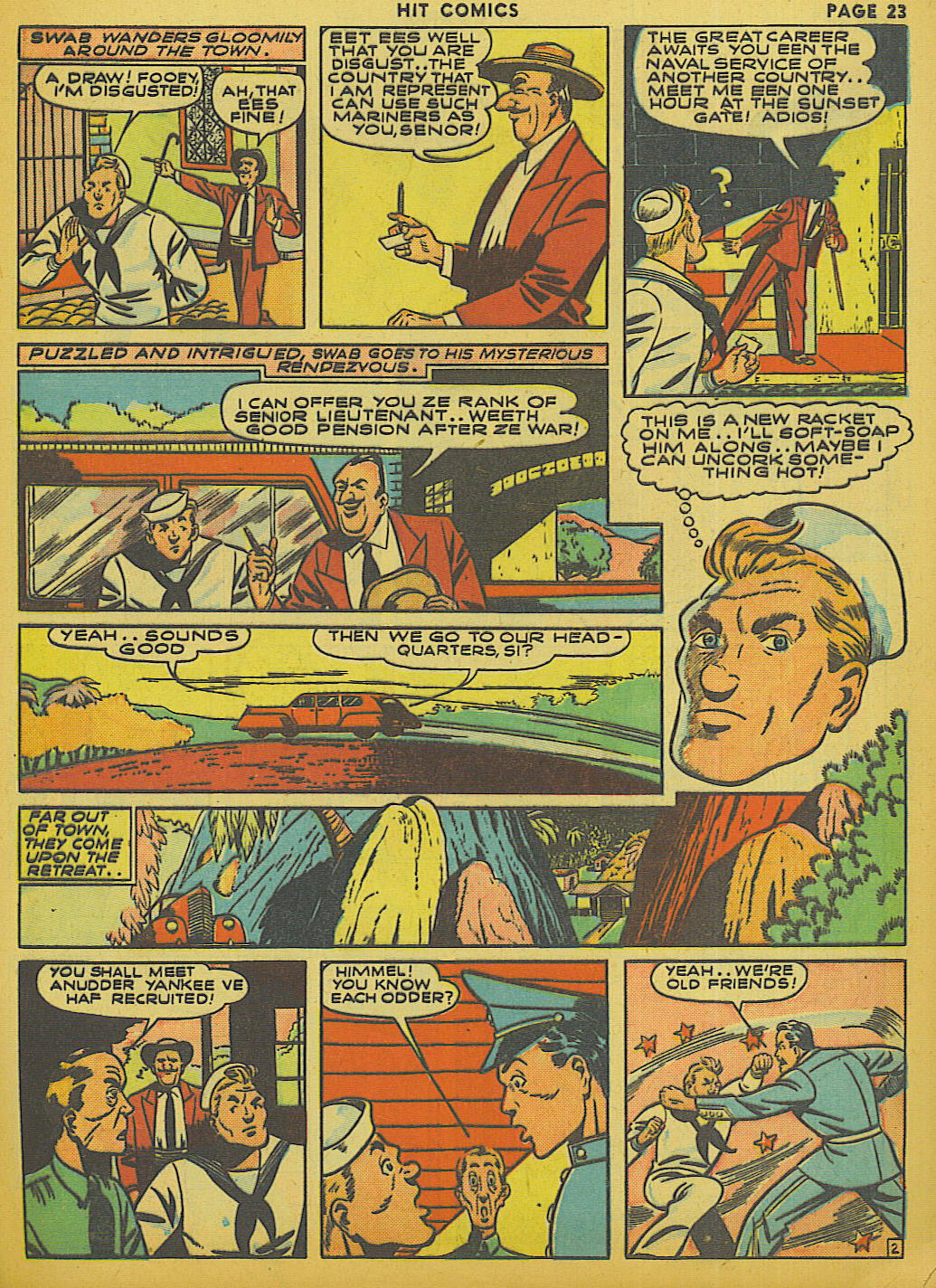 Read online Hit Comics comic -  Issue #13 - 25