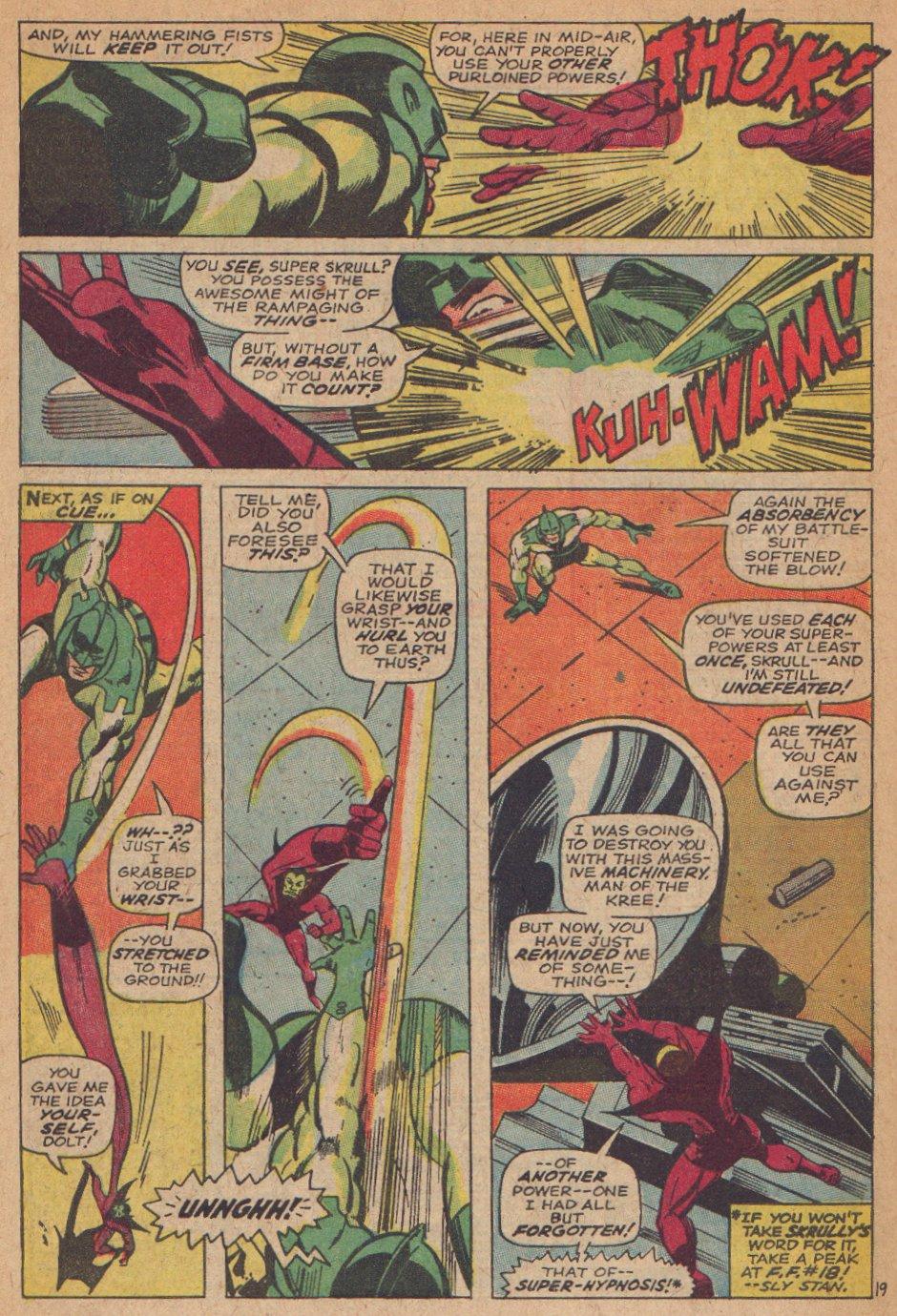 Captain Marvel (1968) Issue #3 #3 - English 20