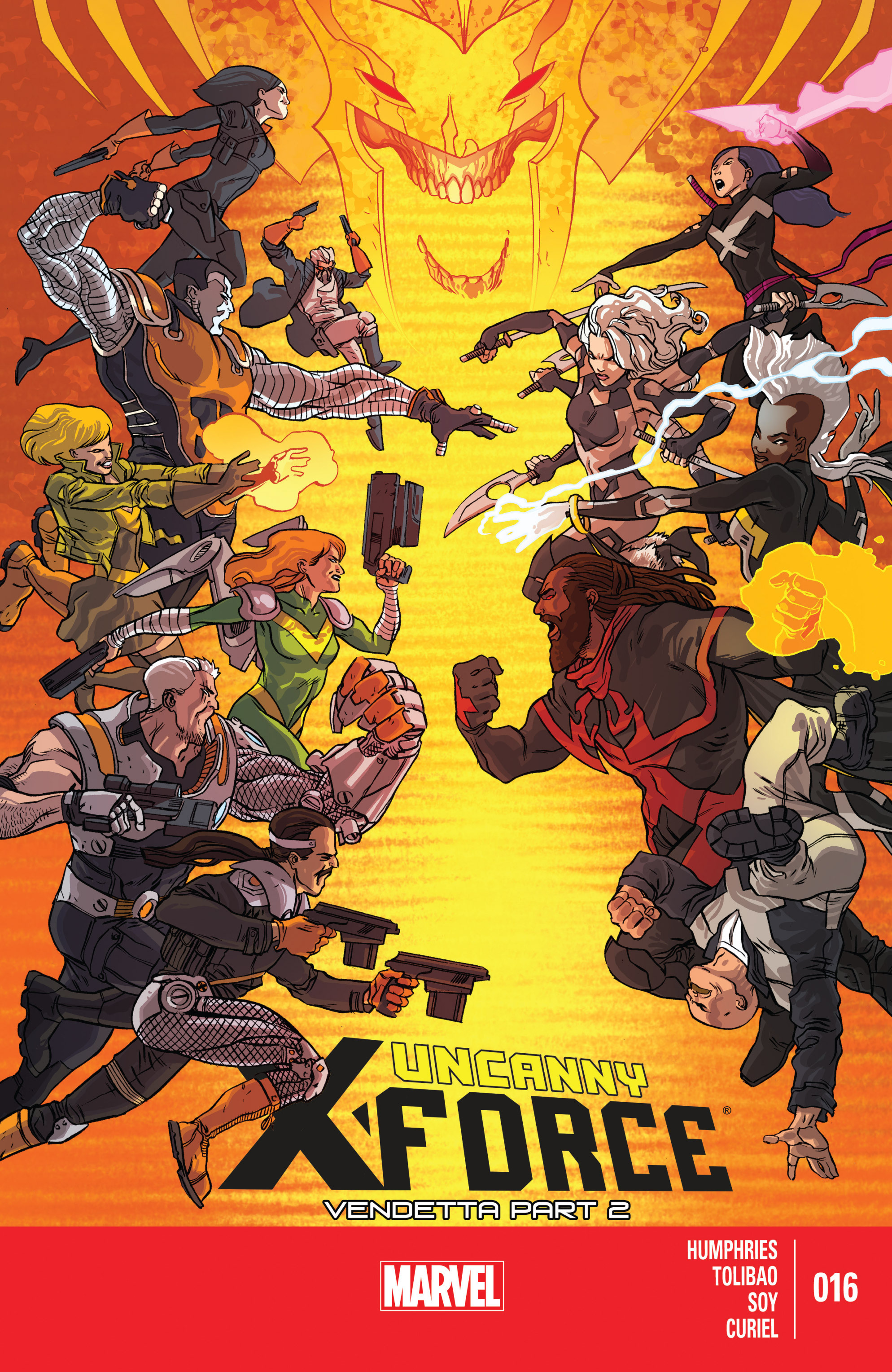 Read online Uncanny X-Force (2013) comic -  Issue #16 - 1