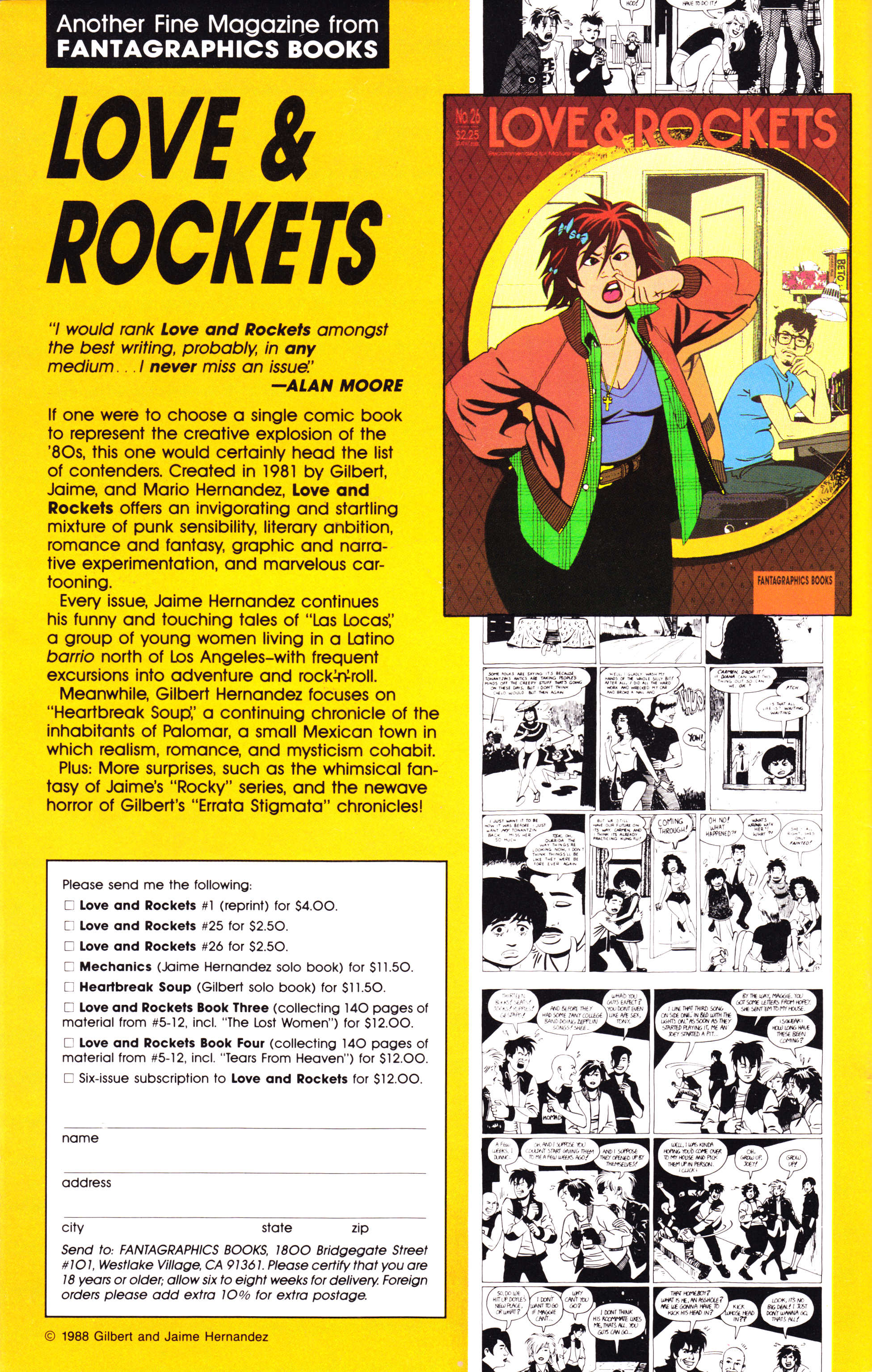 Read online Amazing Heroes comic -  Issue #143 - 84