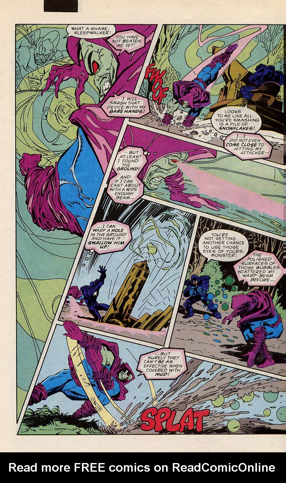 Read online Sleepwalker comic -  Issue #10 - 19
