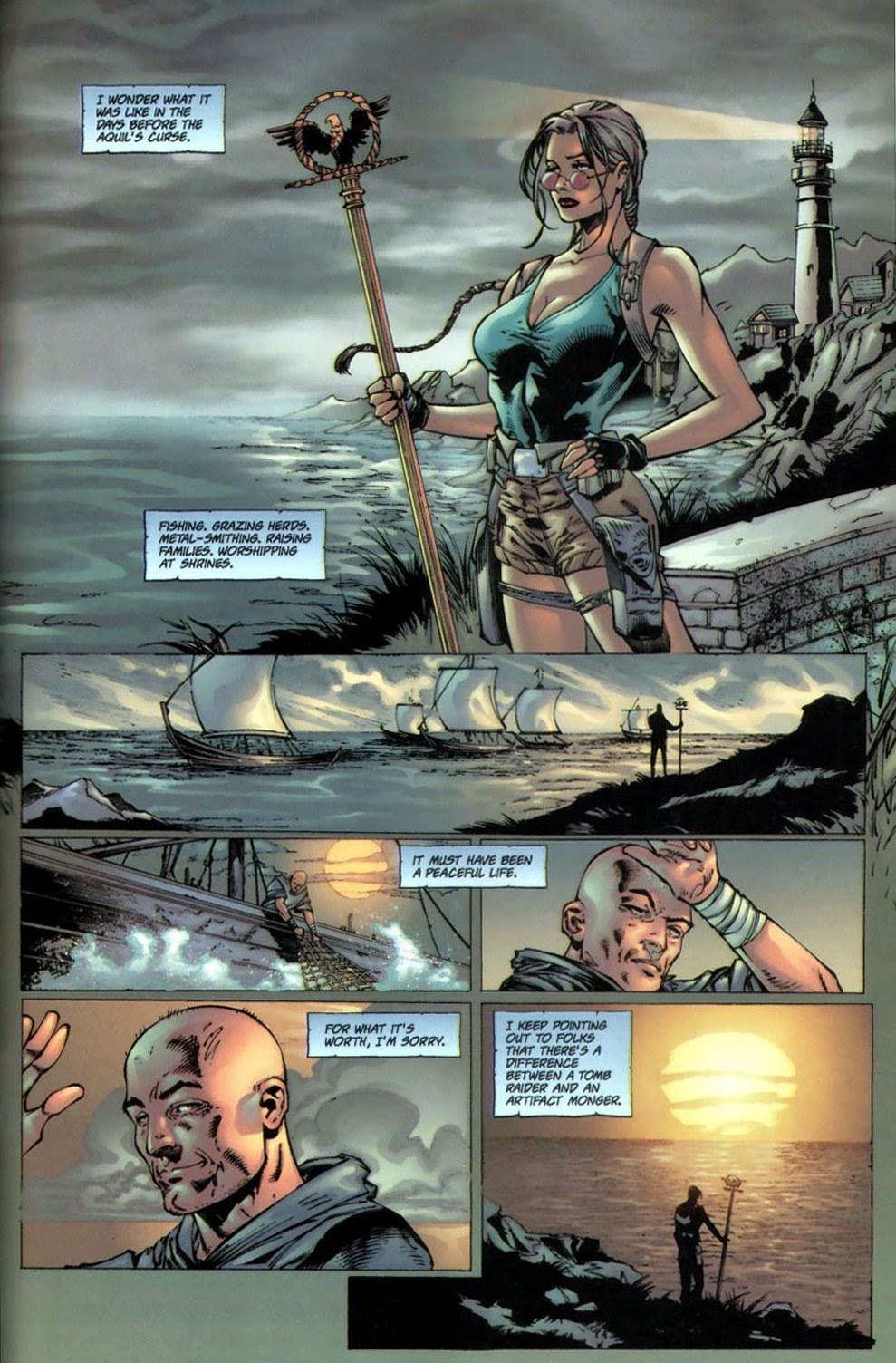 Read online Tomb Raider: The Series comic -  Issue #0 - 19