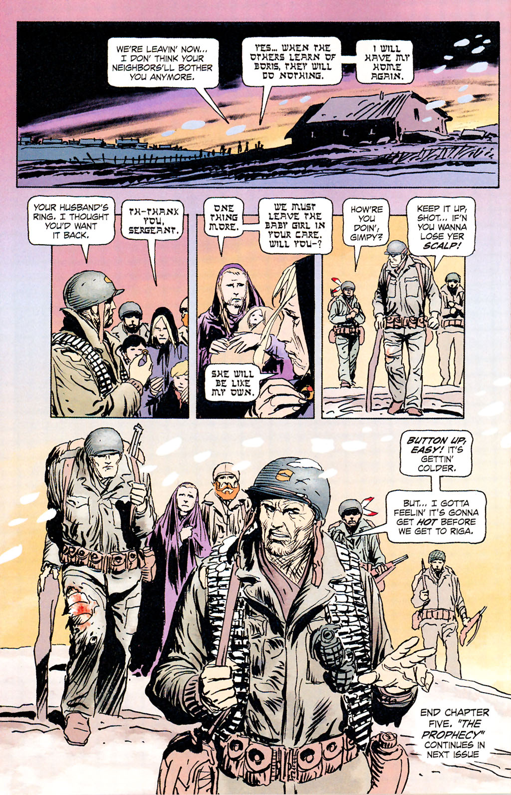 Read online Sgt. Rock: The Prophecy comic -  Issue #5 - 22