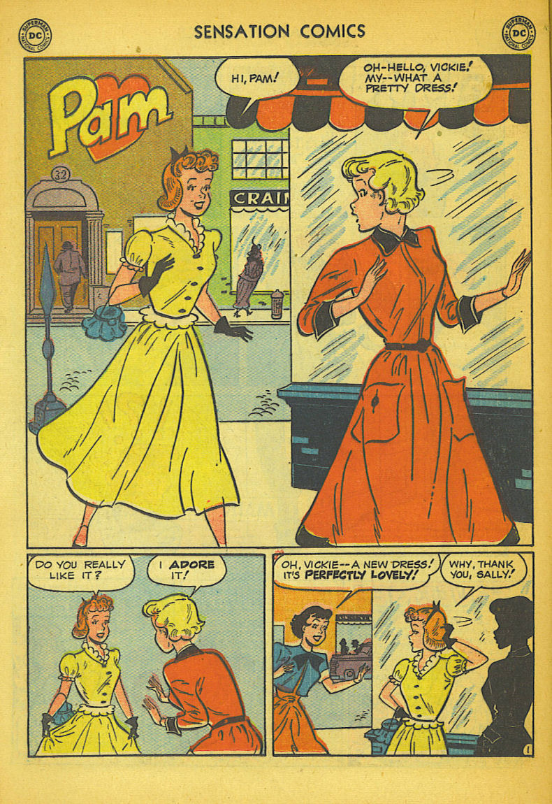 Read online Sensation (Mystery) Comics comic -  Issue #104 - 36