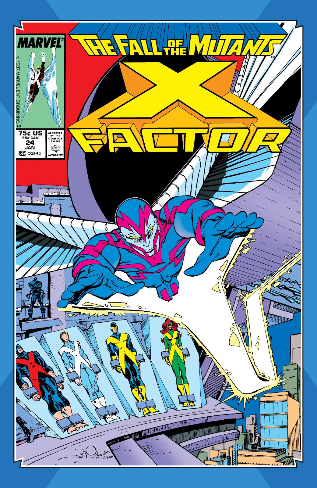 Read online X-Men Milestones: Fall of the Mutants comic -  Issue # TPB (Part 2) - 80