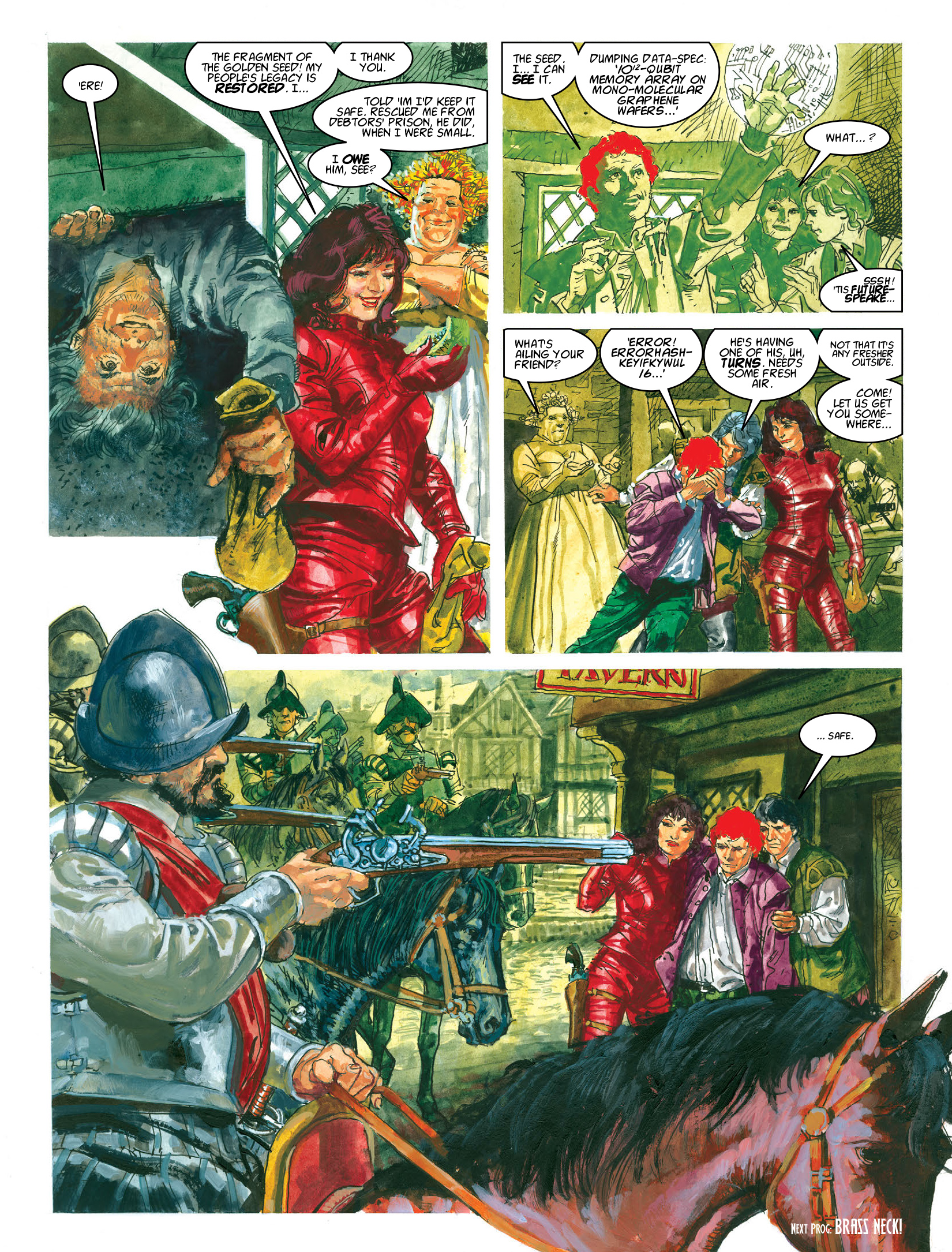 Read online 2000 AD comic -  Issue #1965 - 23