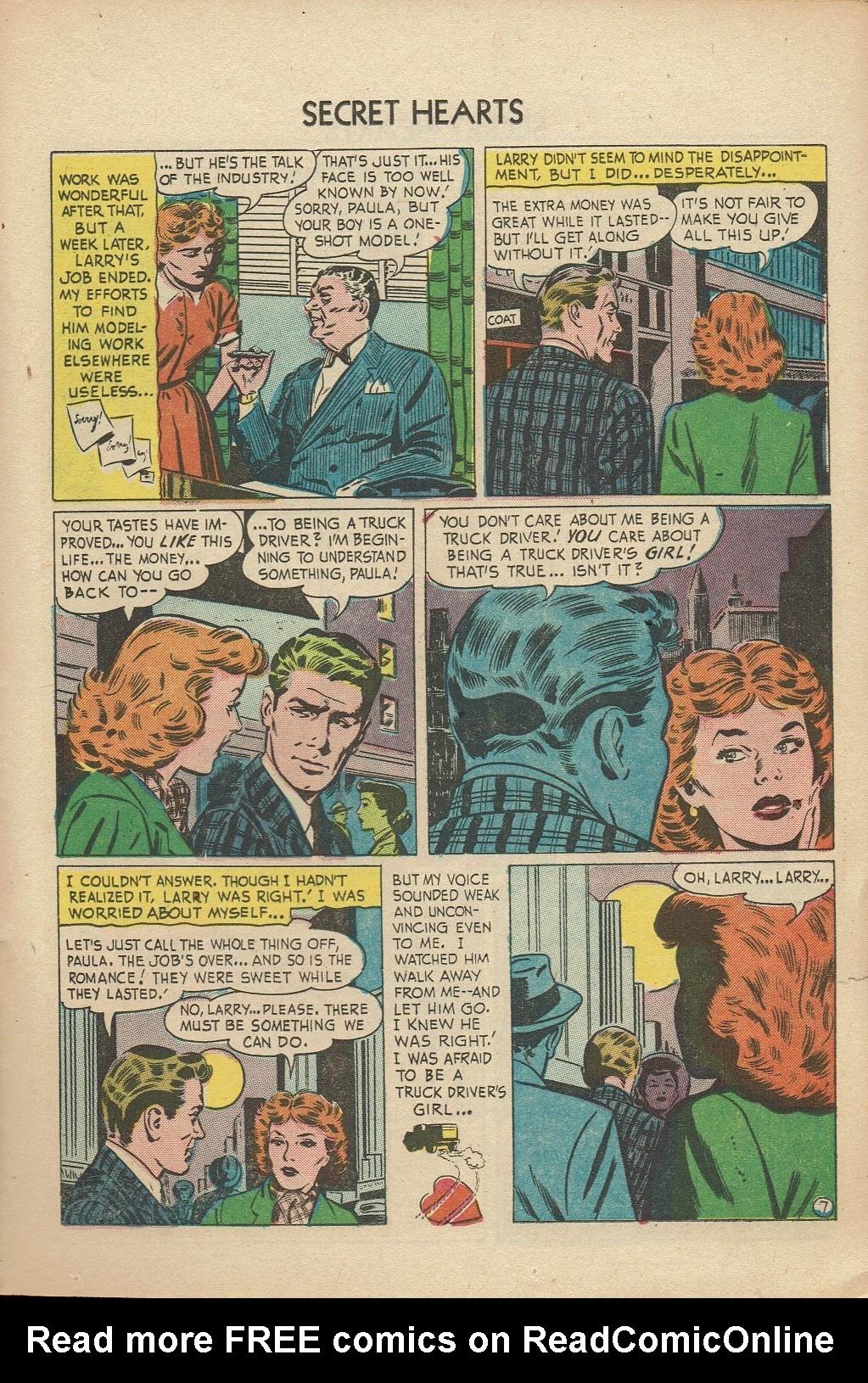 Read online Secret Hearts comic -  Issue #14 - 23