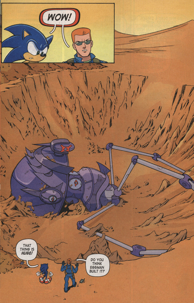 Read online Sonic X comic -  Issue #7 - 20