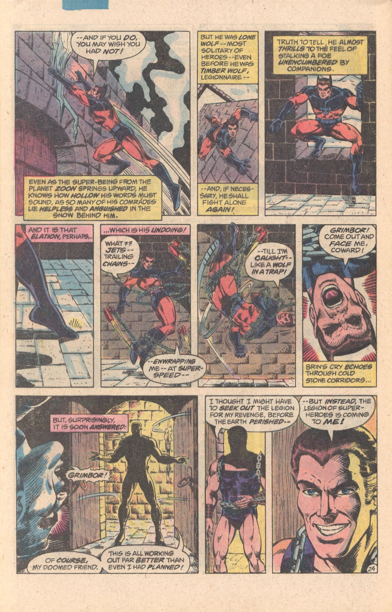Legion of Super-Heroes (1980) 278 Page 24