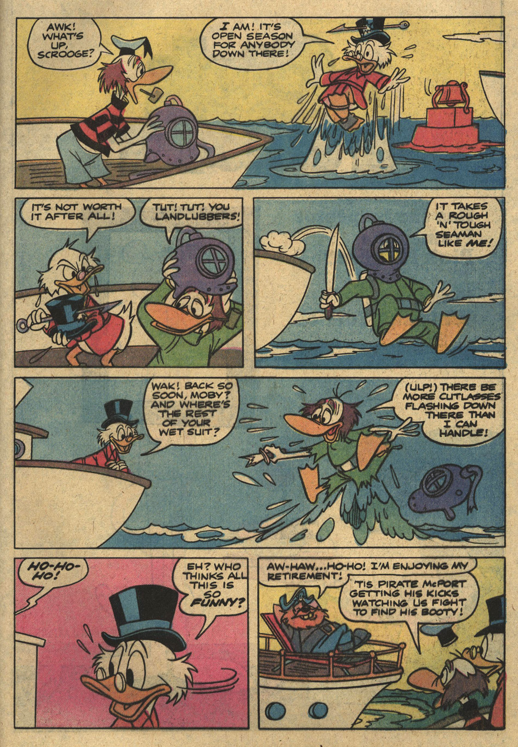 Read online Uncle Scrooge (1953) comic -  Issue #186 - 29