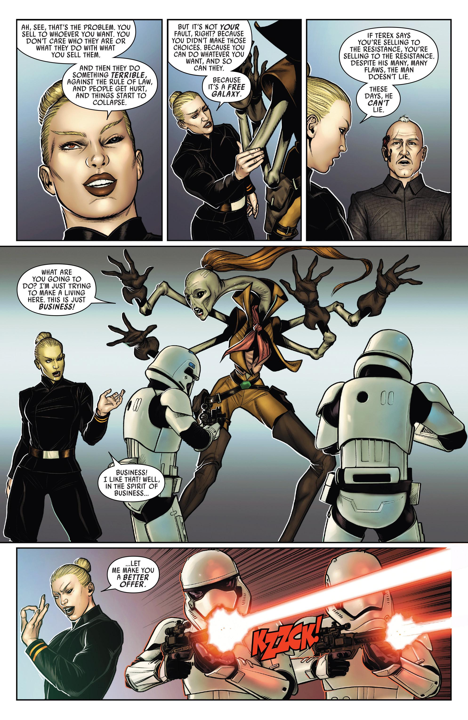 Read online Star Wars: Poe Dameron comic -  Issue #15 - 11