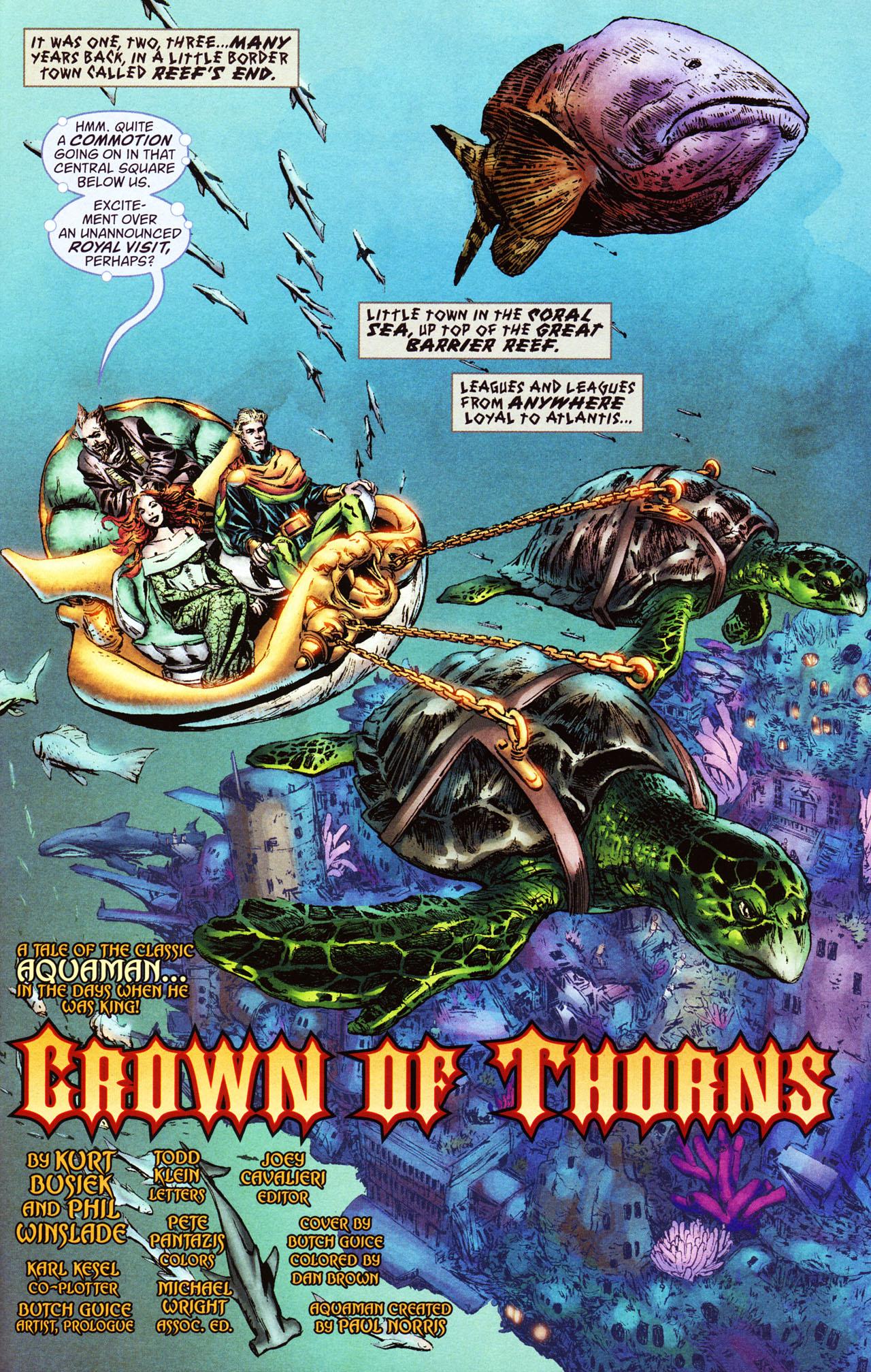 Read online Aquaman: Sword of Atlantis comic -  Issue #46 - 5