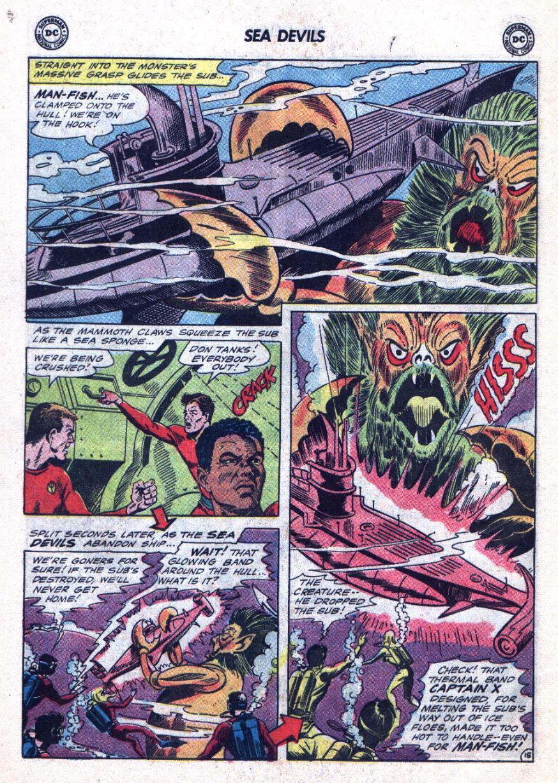 Read online Sea Devils comic -  Issue #24 - 21