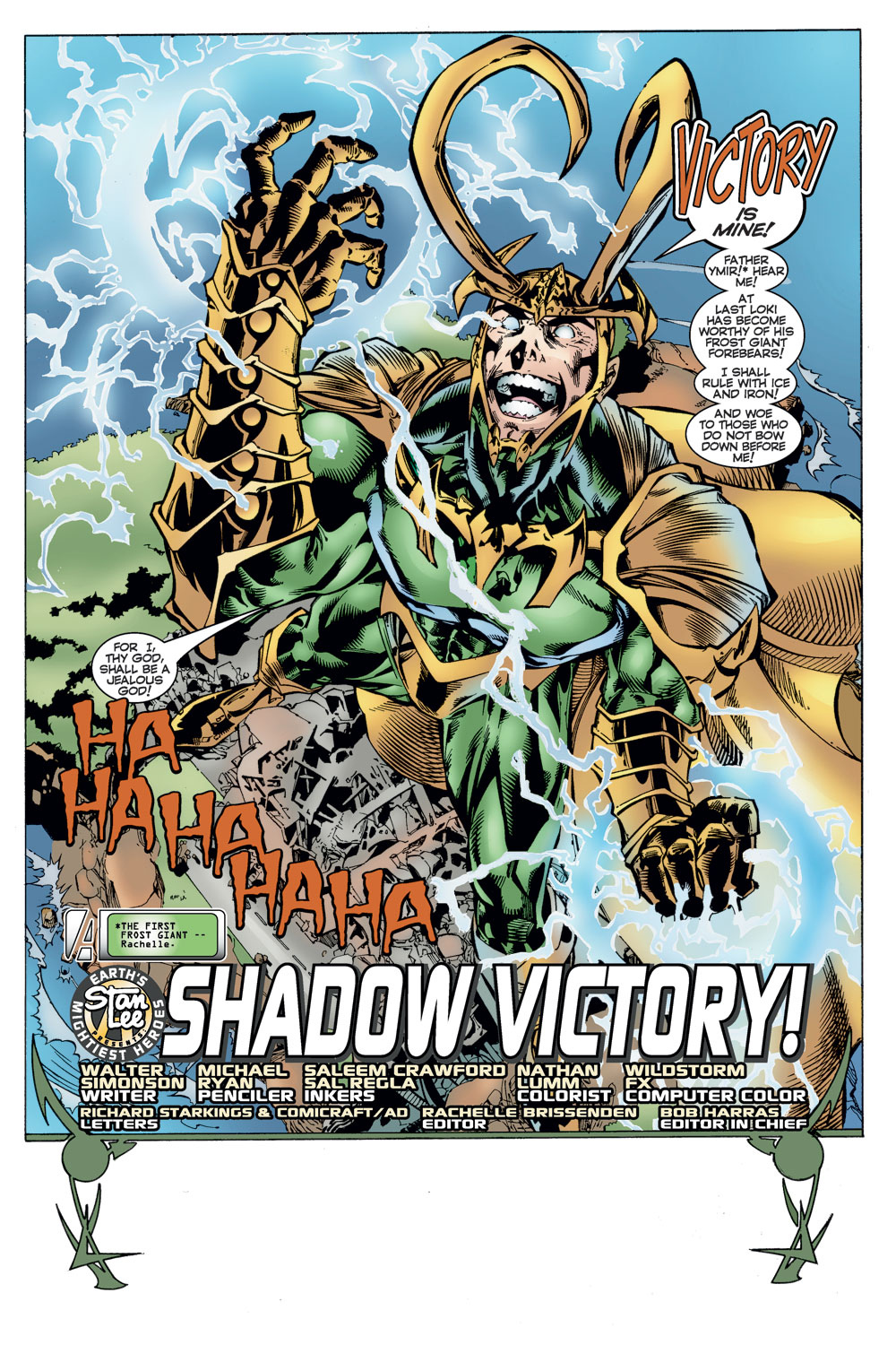 Read online Avengers (1996) comic -  Issue #11 - 2