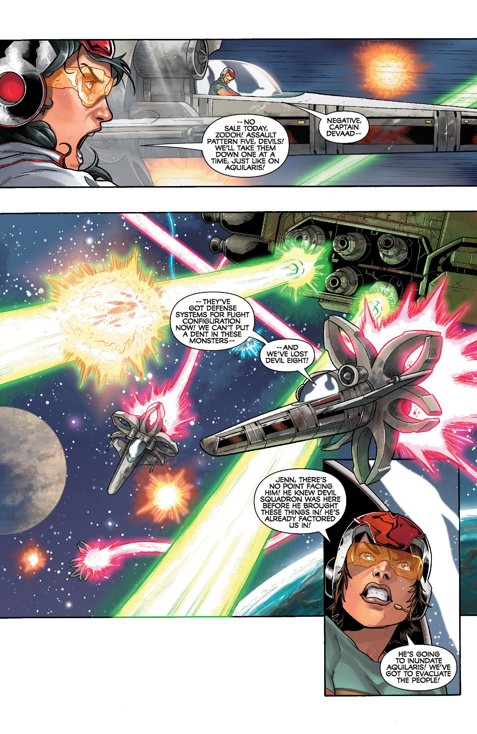 Read online Star Wars: Knight Errant - Deluge comic -  Issue #3 - 5