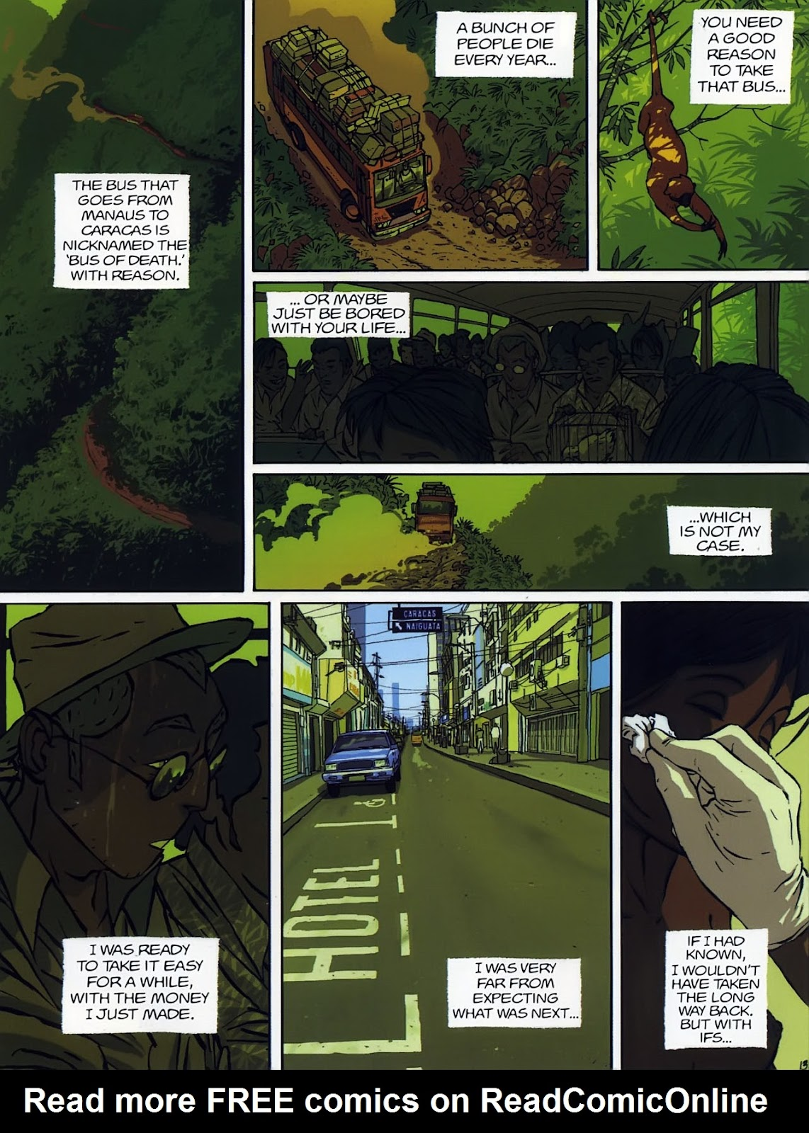 Read online The Killer comic -  Issue #7 - 15