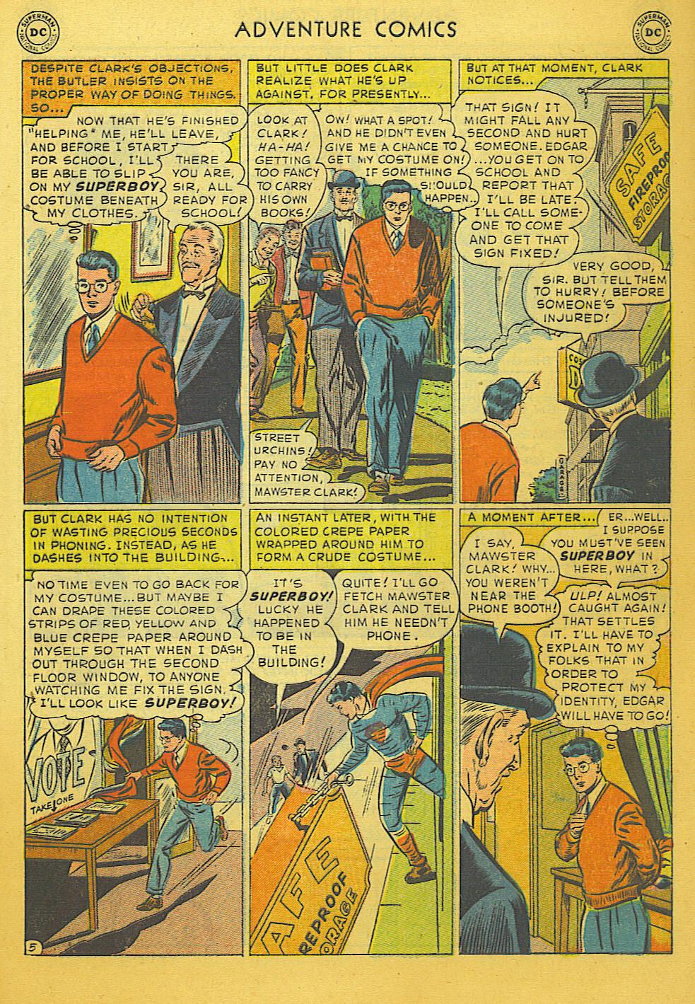 Read online Adventure Comics (1938) comic -  Issue #169 - 6