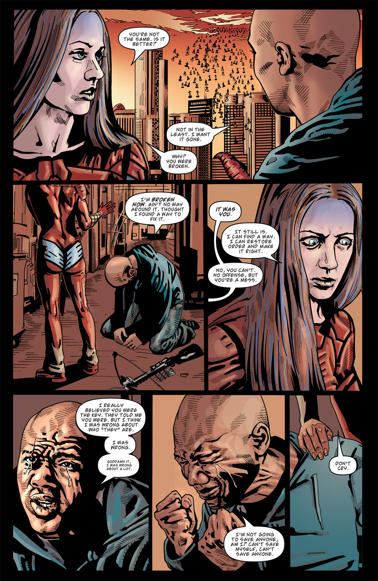 Read online Angel: After The Fall comic -  Issue #13 - 22