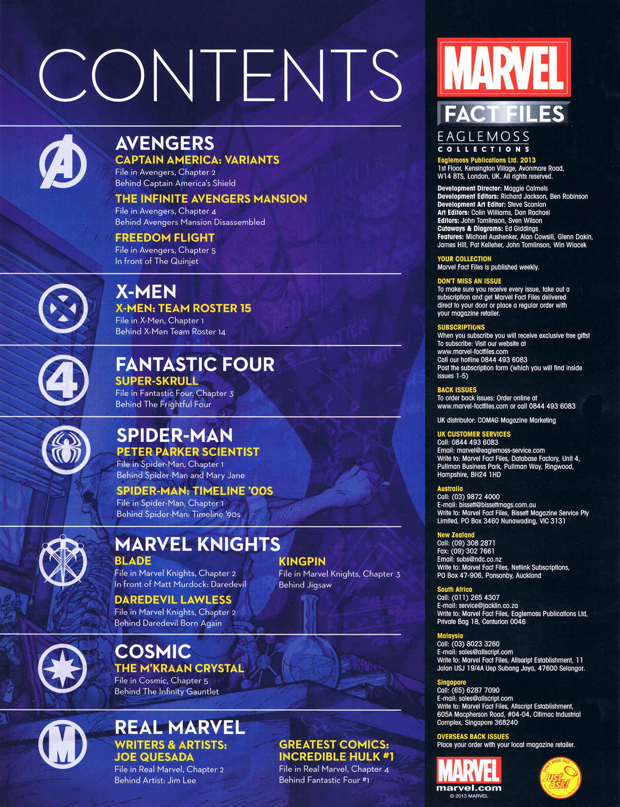 Marvel Fact Files 15 Page 2