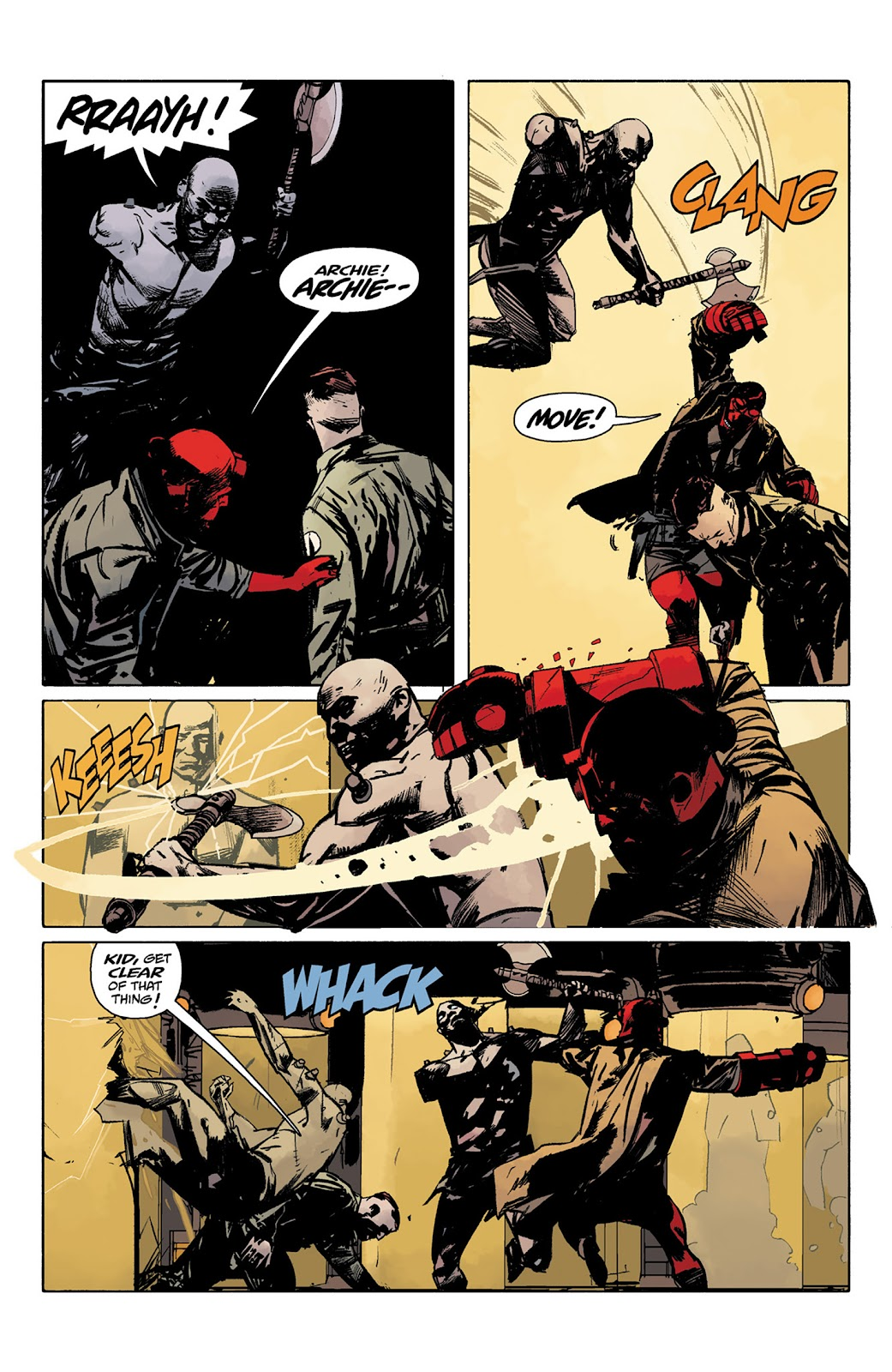 Read online Hellboy and the B.P.R.D. comic -  Issue # _TPB - 87