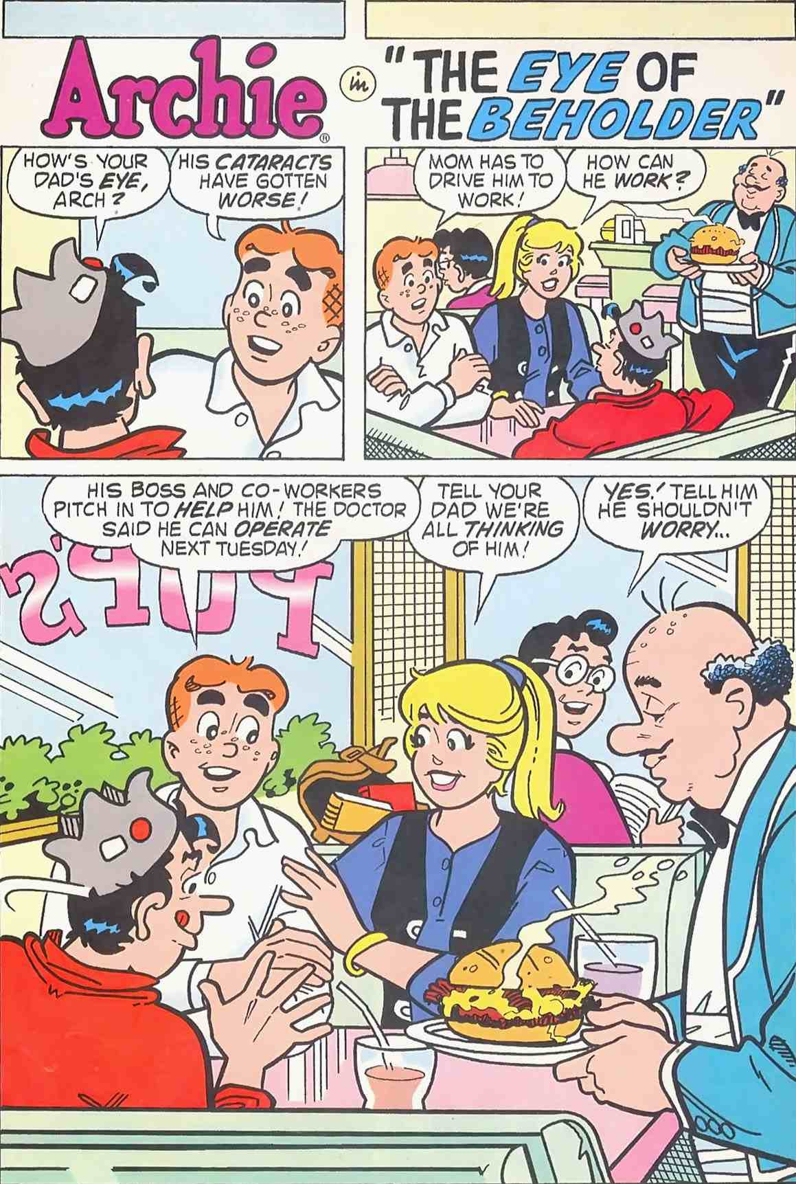 Read online Archie (1960) comic -  Issue #454 - 13