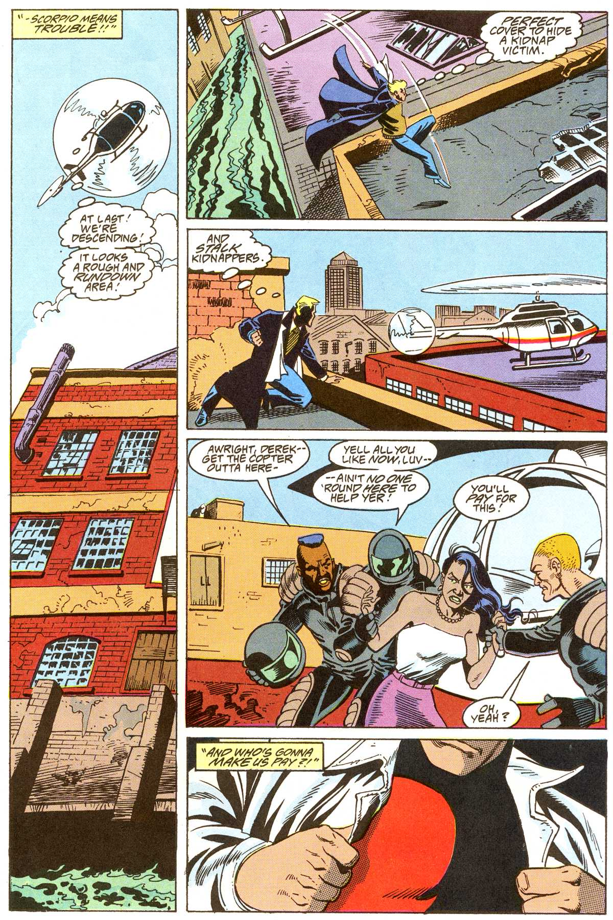 Read online Peter Cannon--Thunderbolt (1992) comic -  Issue #8 - 16