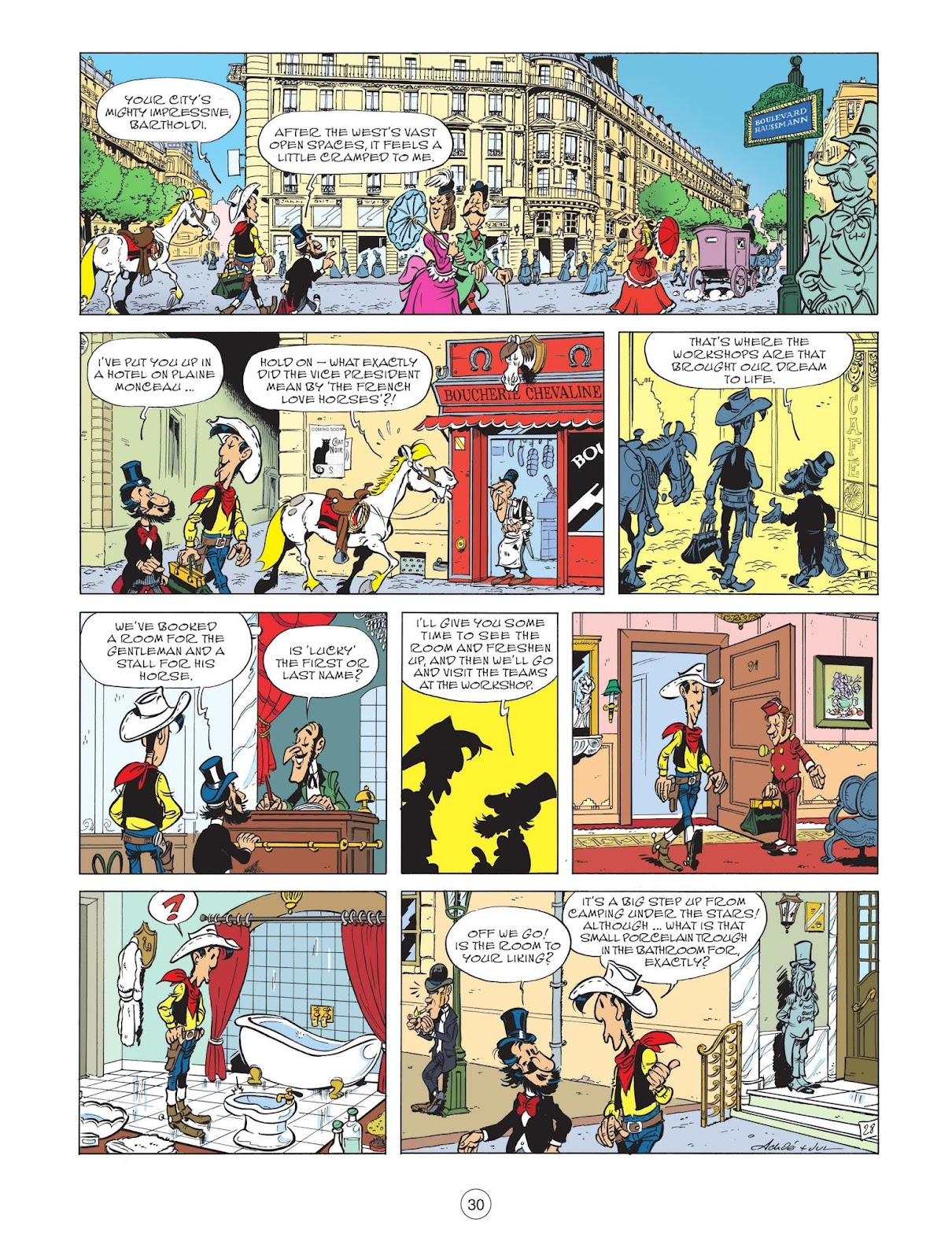 A Lucky Luke Adventure issue 71 - Page 32