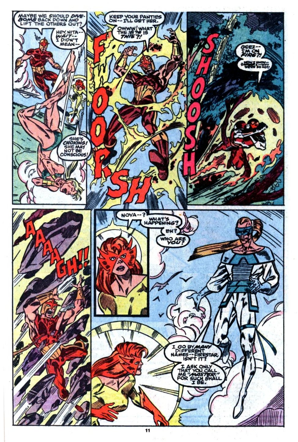 The New Warriors Issue #8 #12 - English 10