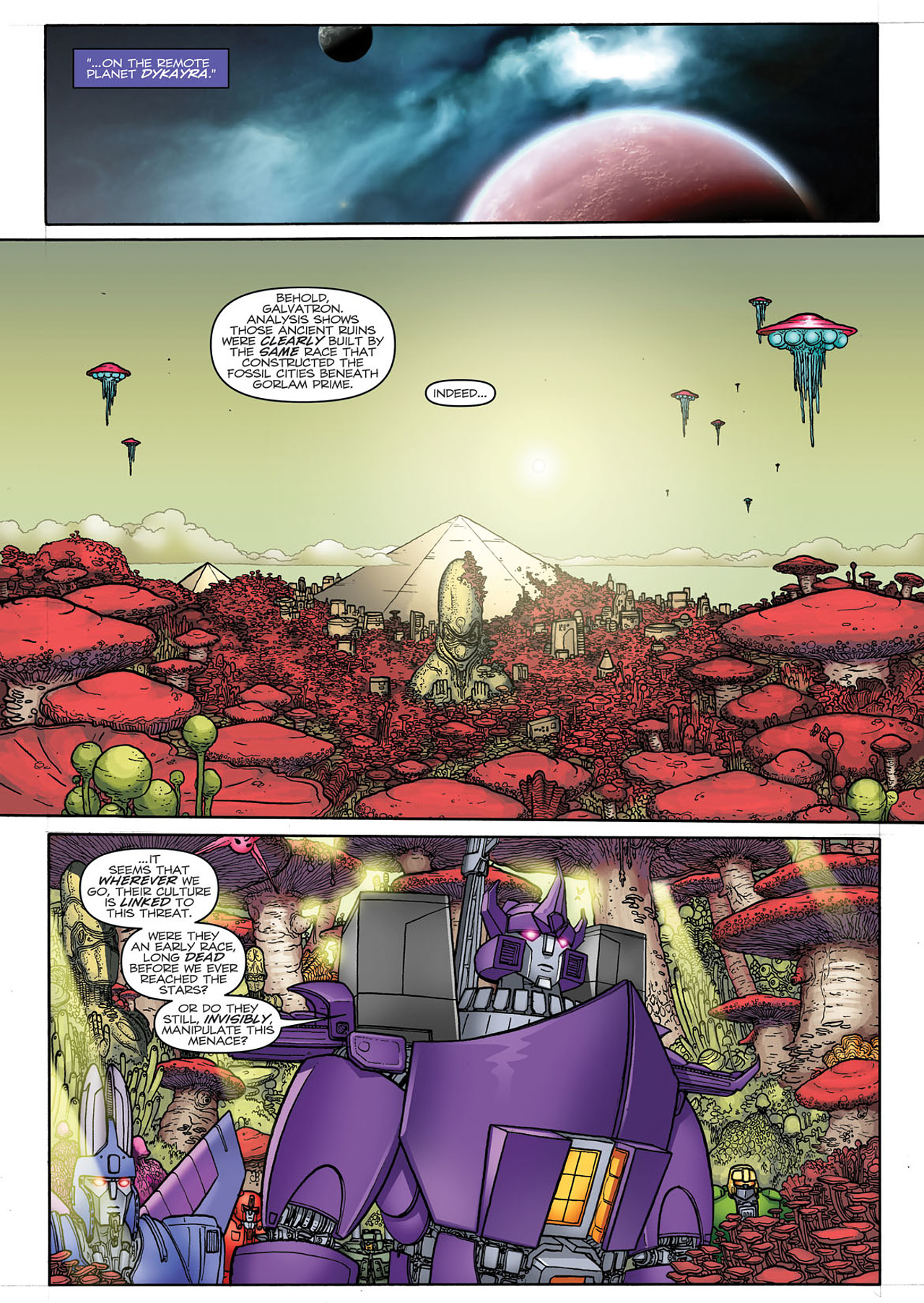 Read online Transformers: Heart of Darkness comic -  Issue #3 - 20