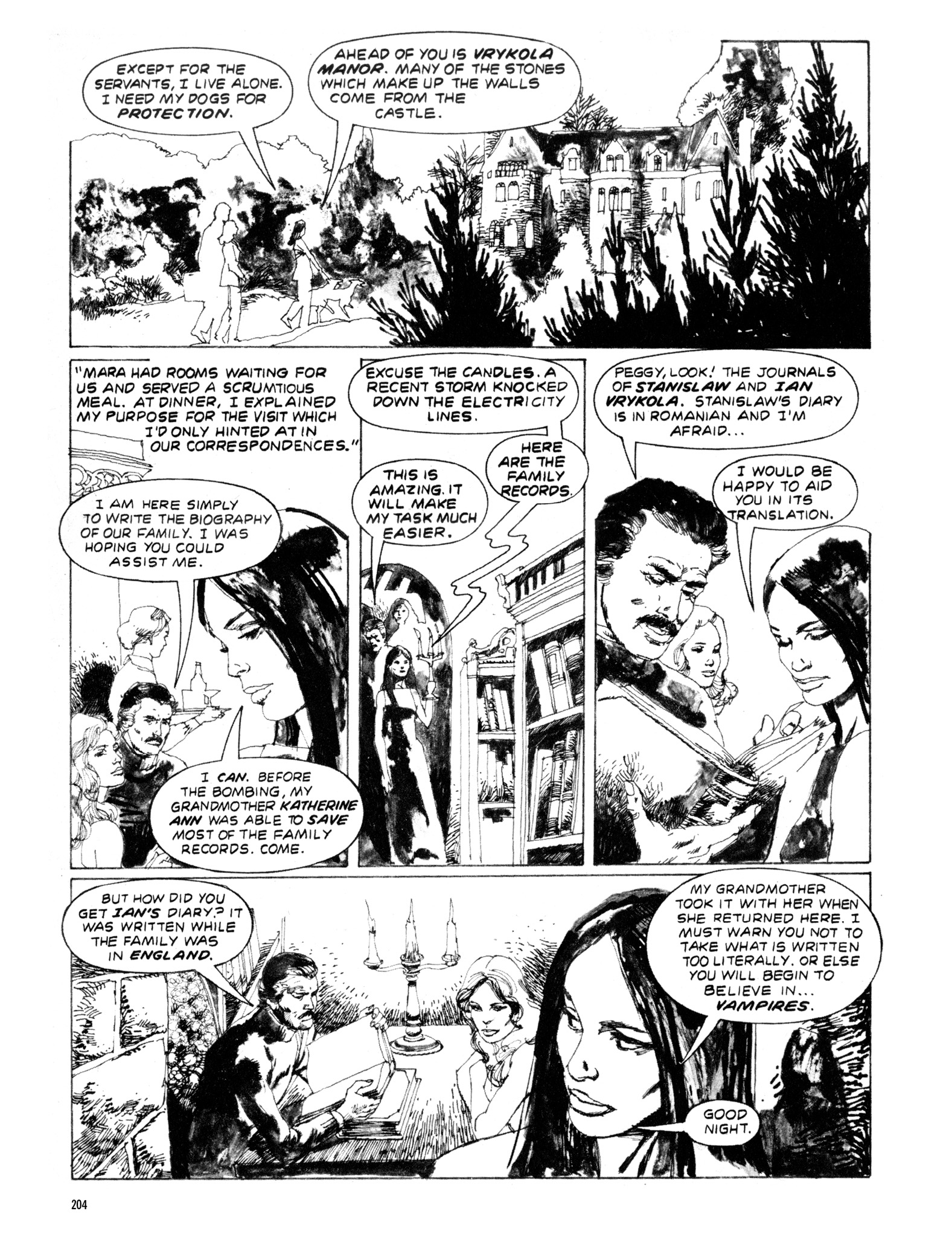 Read online Eerie Archives comic -  Issue # TPB 20 - 204